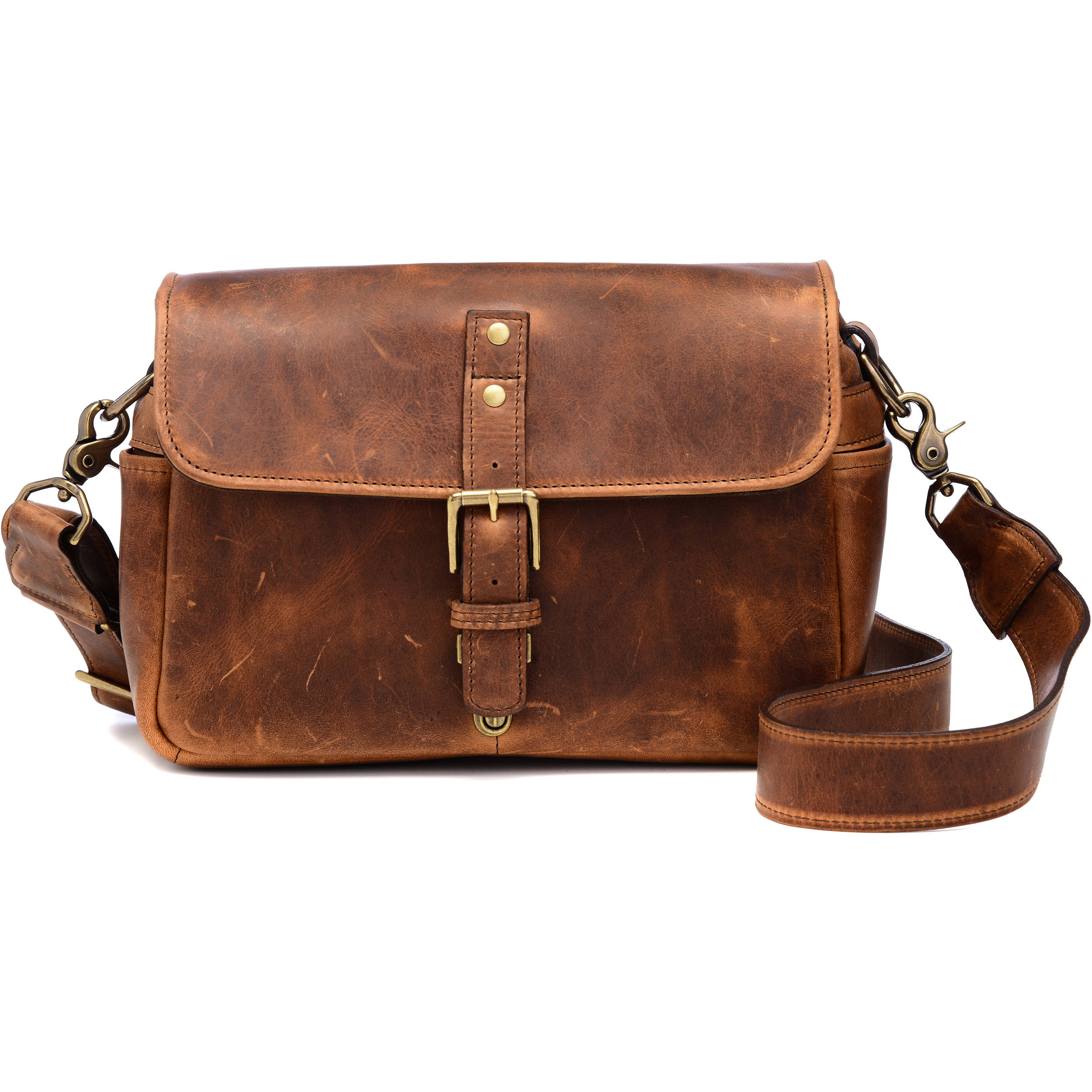 Ona Bowery Camera Bag Leather Antique