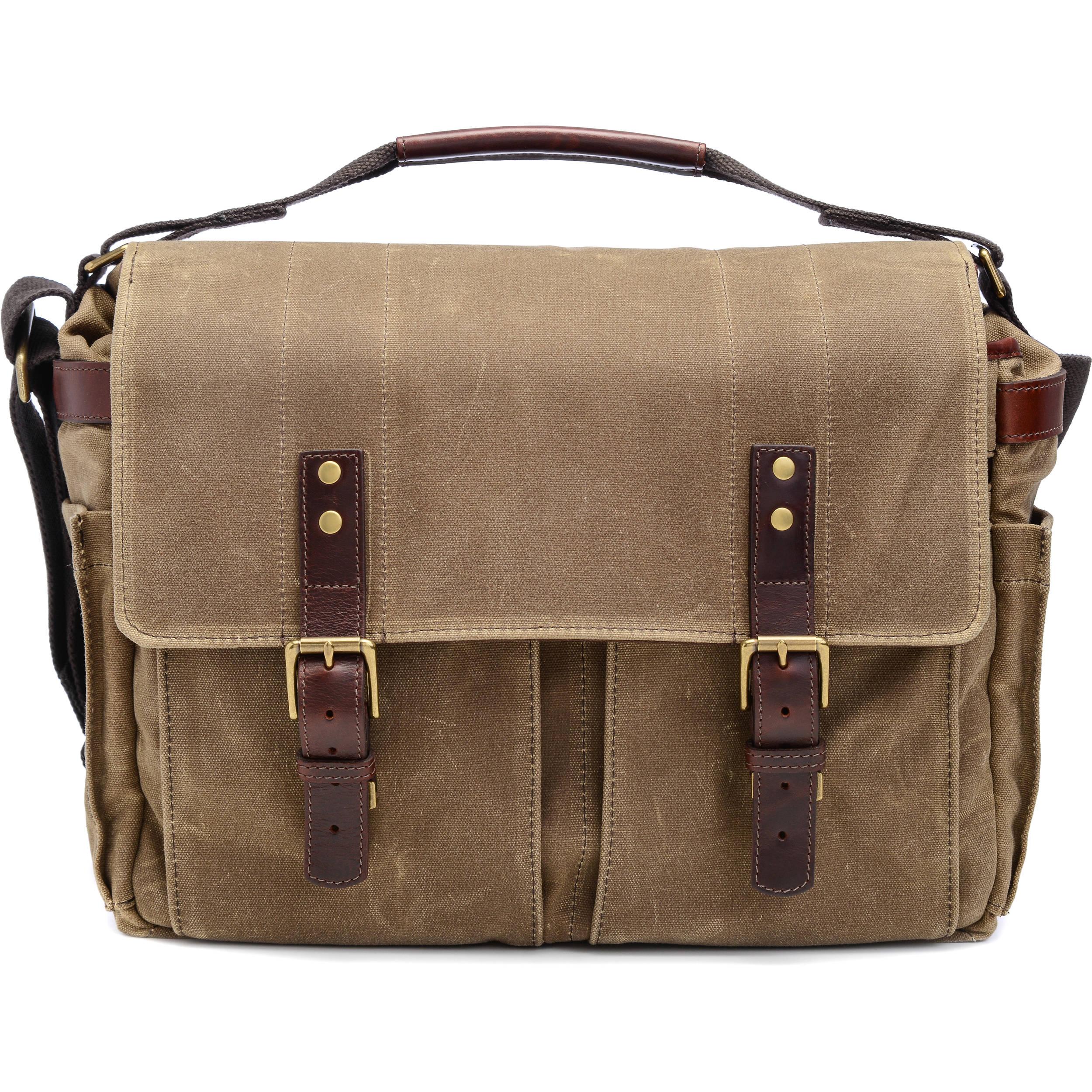 c099aa012c881b ONA Astoria Camera & Laptop Messenger Bag ONA5-020RT B&H