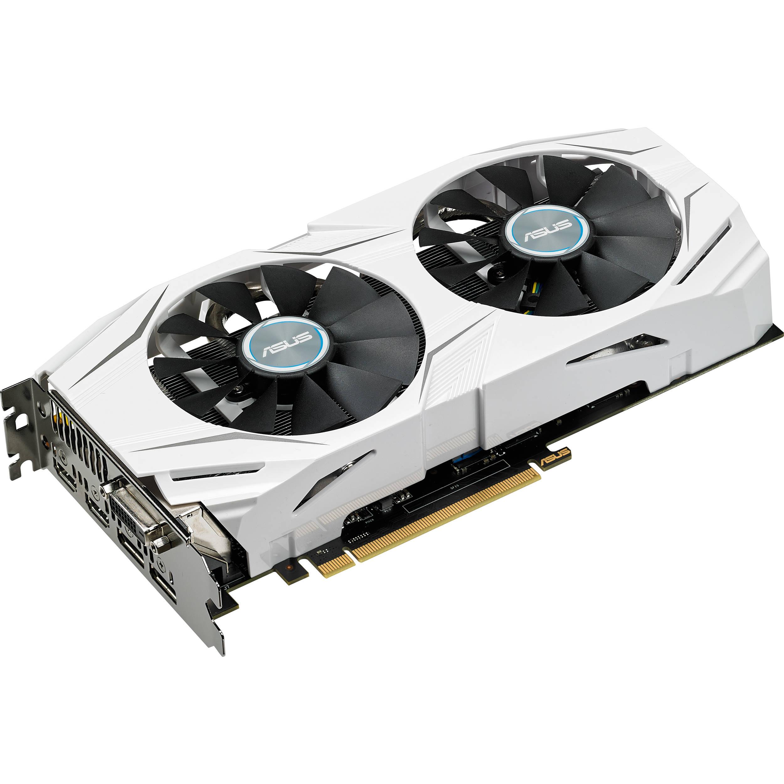 ASUS Dual OC GeForce GTX 1060 Graphics Card