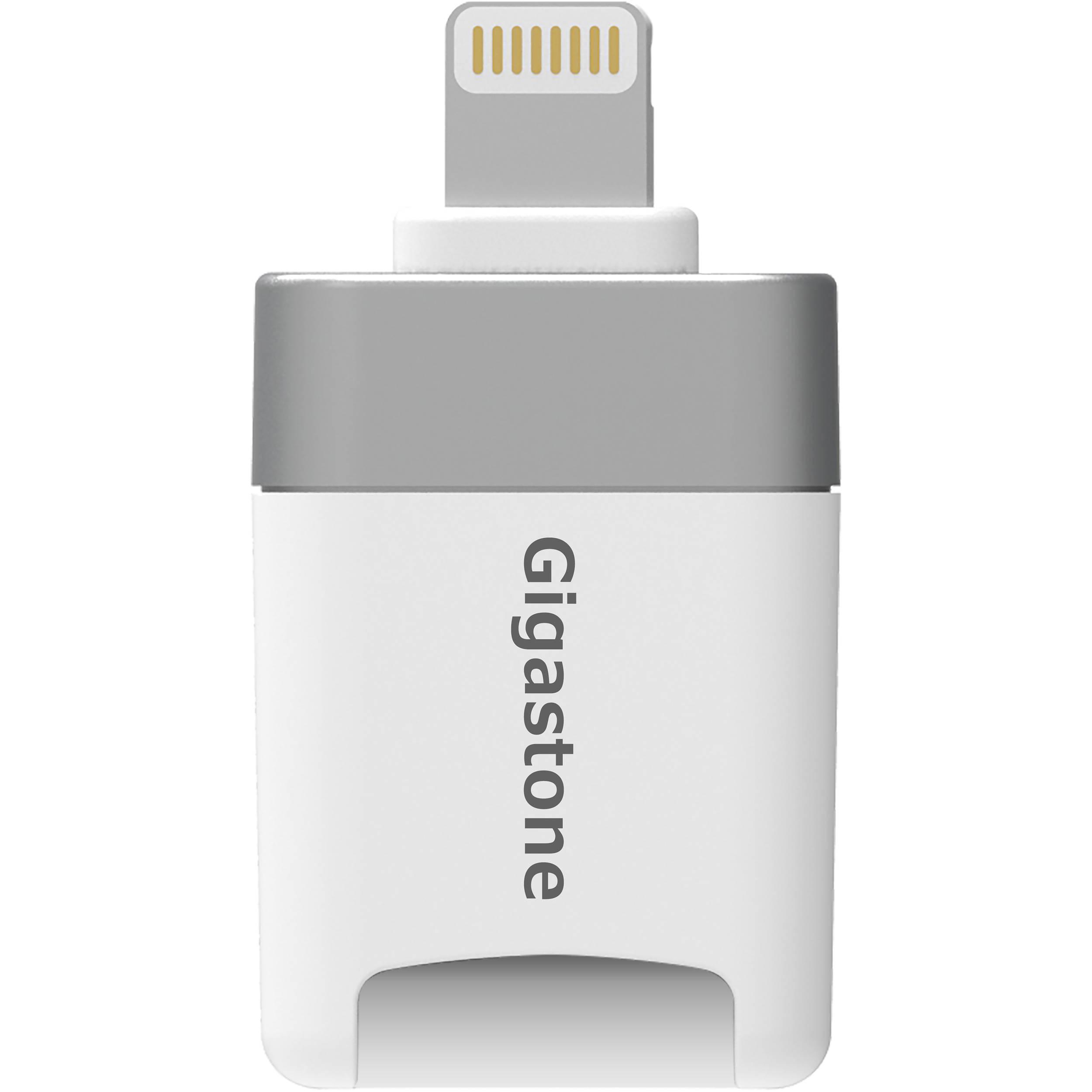 Mini Sd Kartenleser.Gigastone Cr8600 Ios Microsd Card Reader