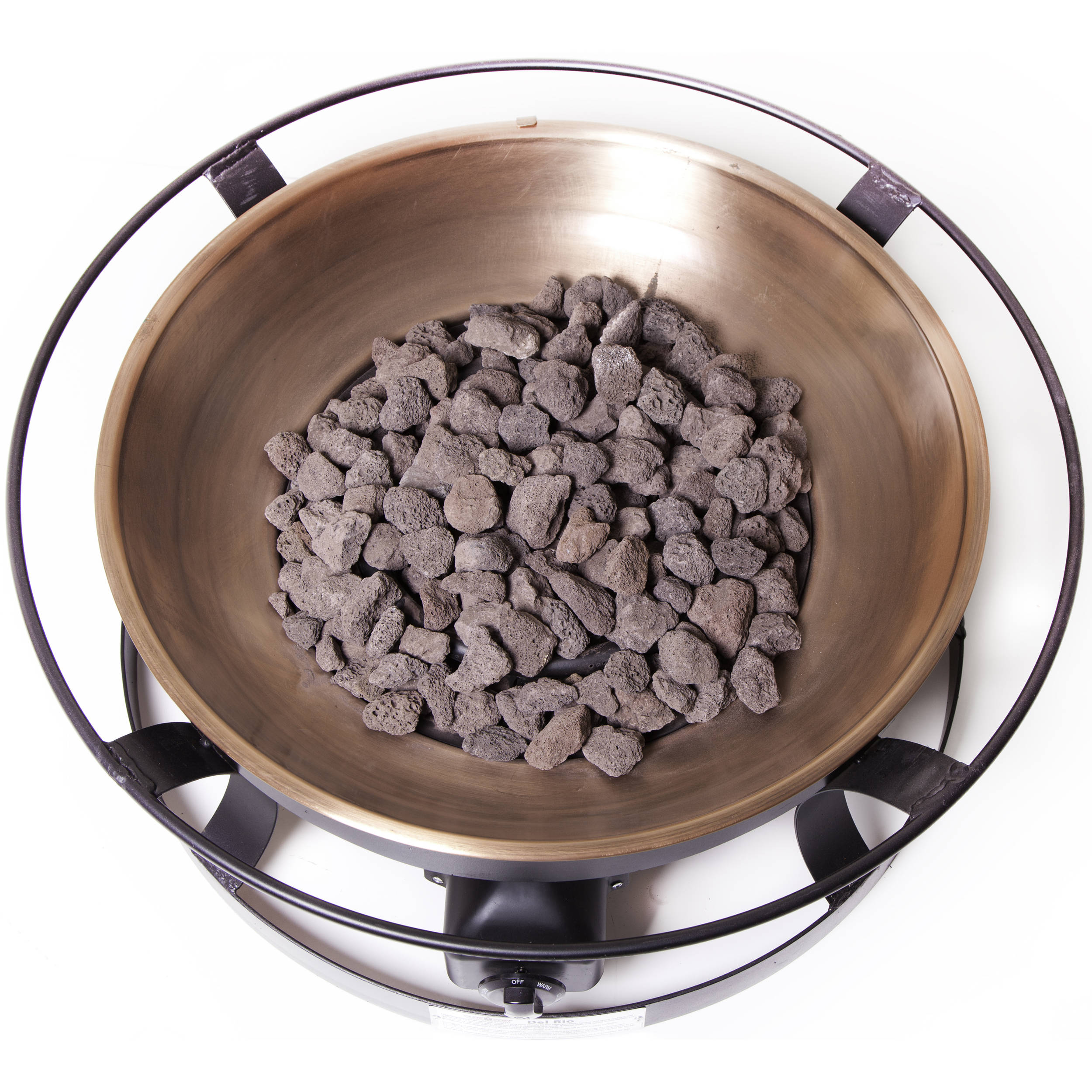 Camp Chef Del Rio Propane Fire Pit With Lava Rocks Fp29lg