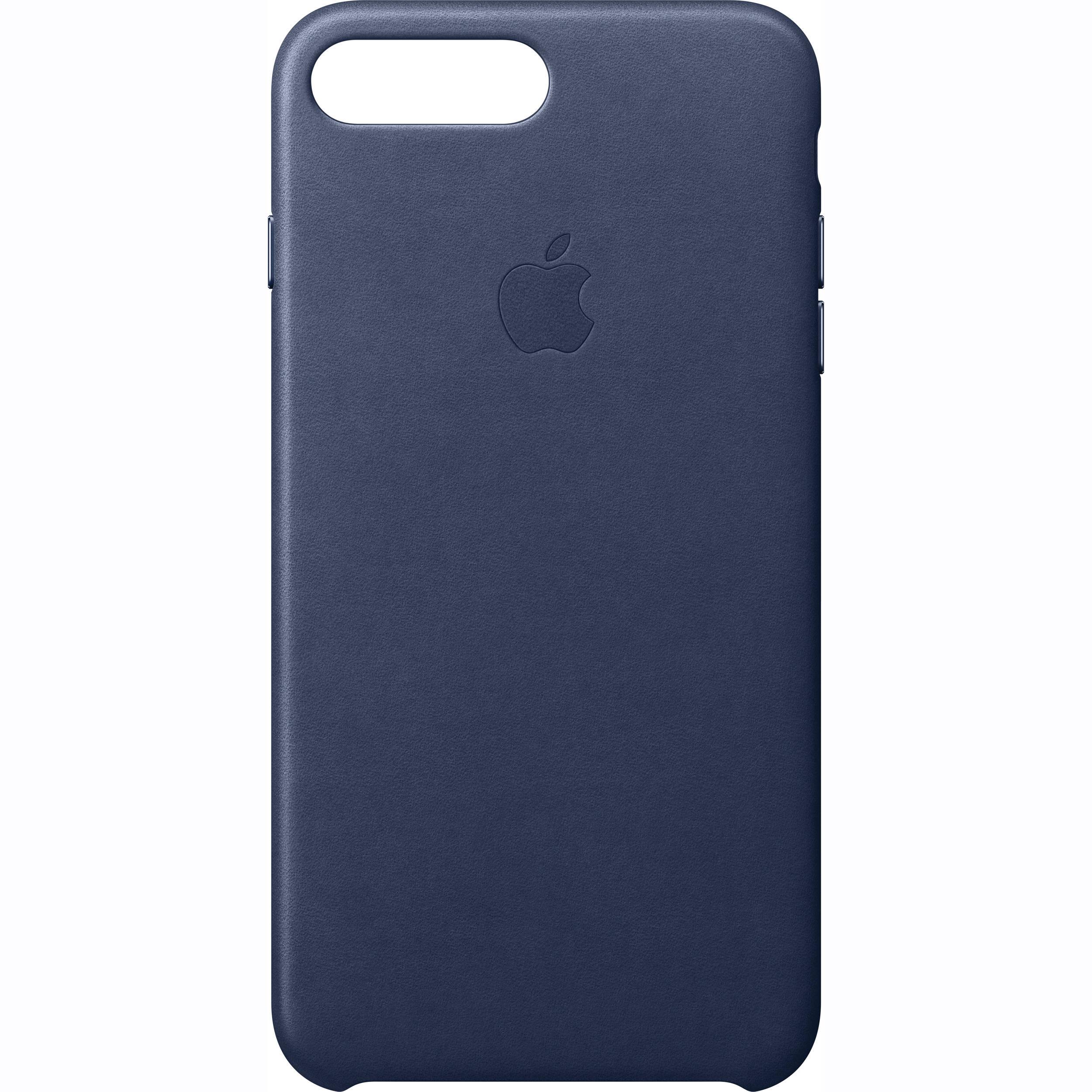 premium selection 447f6 23325 Apple iPhone 7 Plus Leather Case (Midnight Blue)