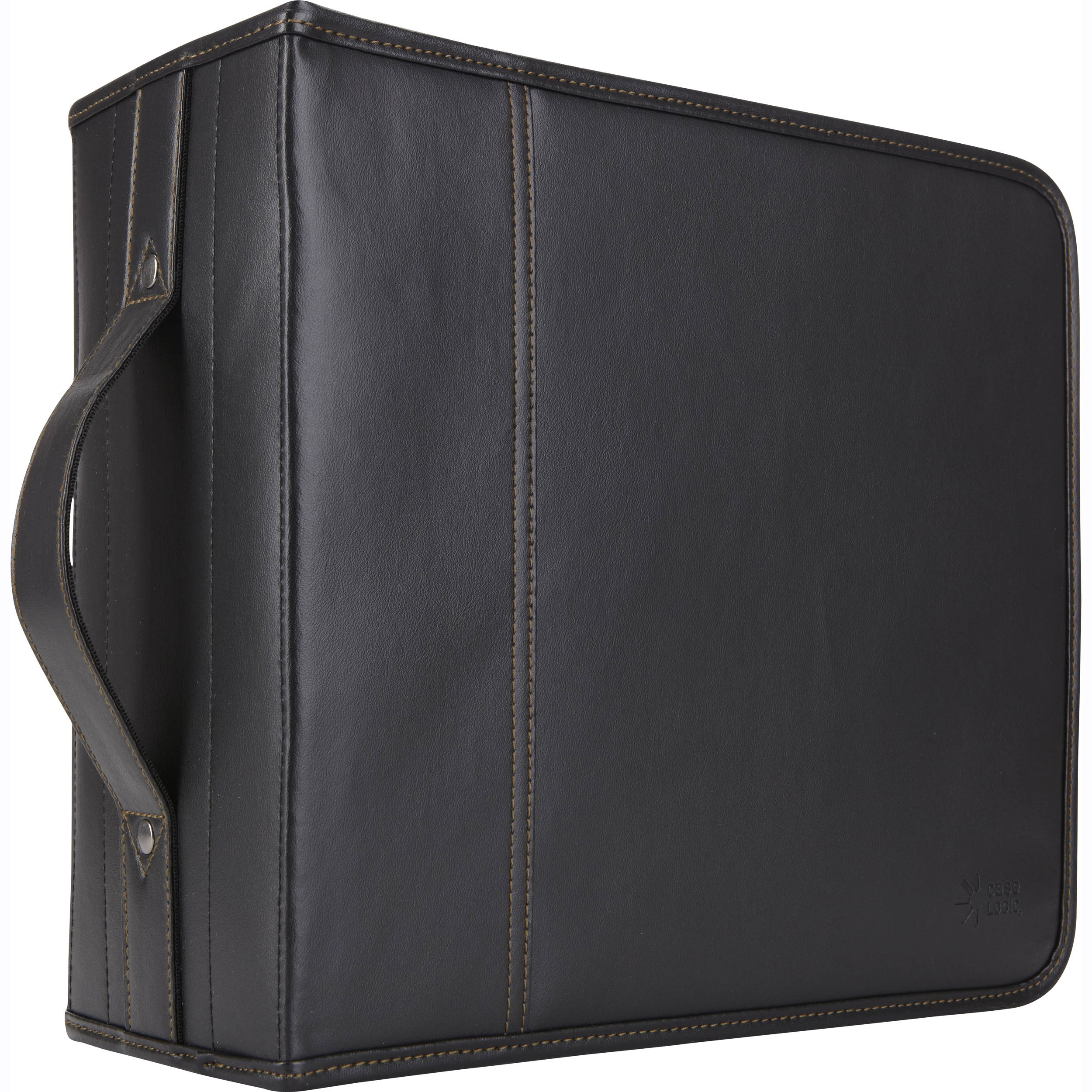 Case Logic KSW-320 320 Capacity CD Wallet - holds 320 + 16 CDs or DVDs  without Jewel Cases (Black Koskin)