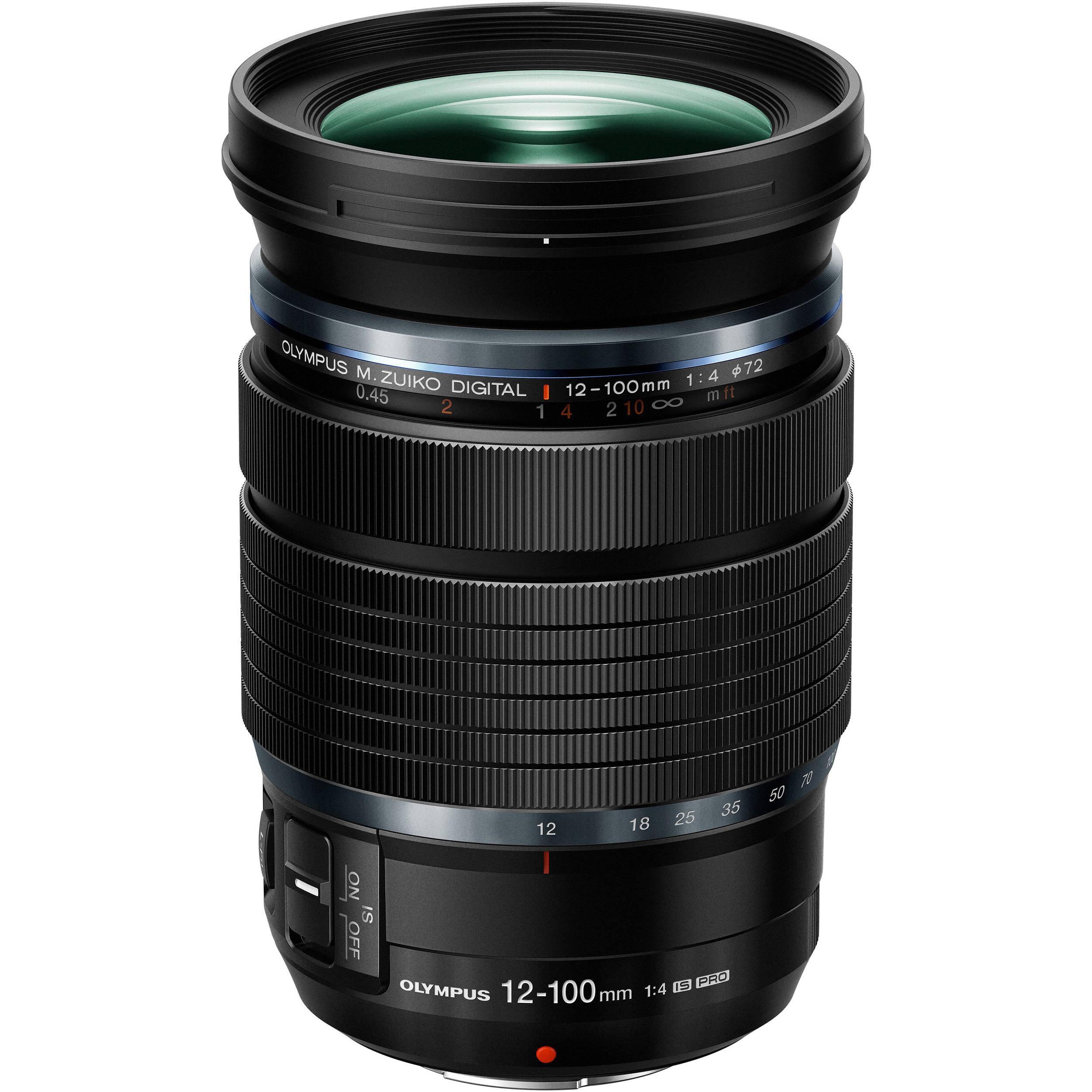 Olympus M Zuiko Digital Ed 12 100mm F 4 Is Pro Lens V314080bu000