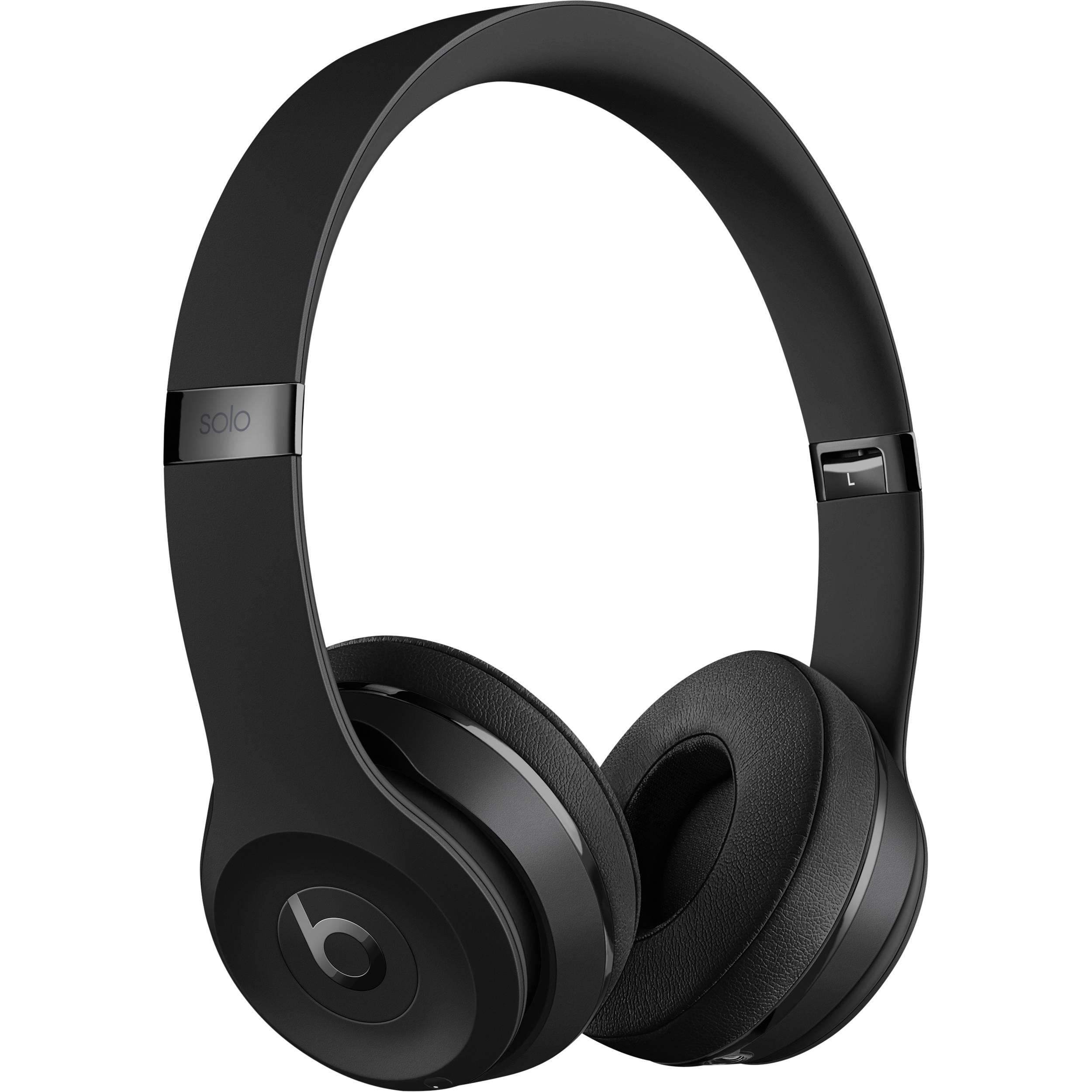 Beats Solo 3 Wireless On Ear Headphones Beats Solo3 Black B H
