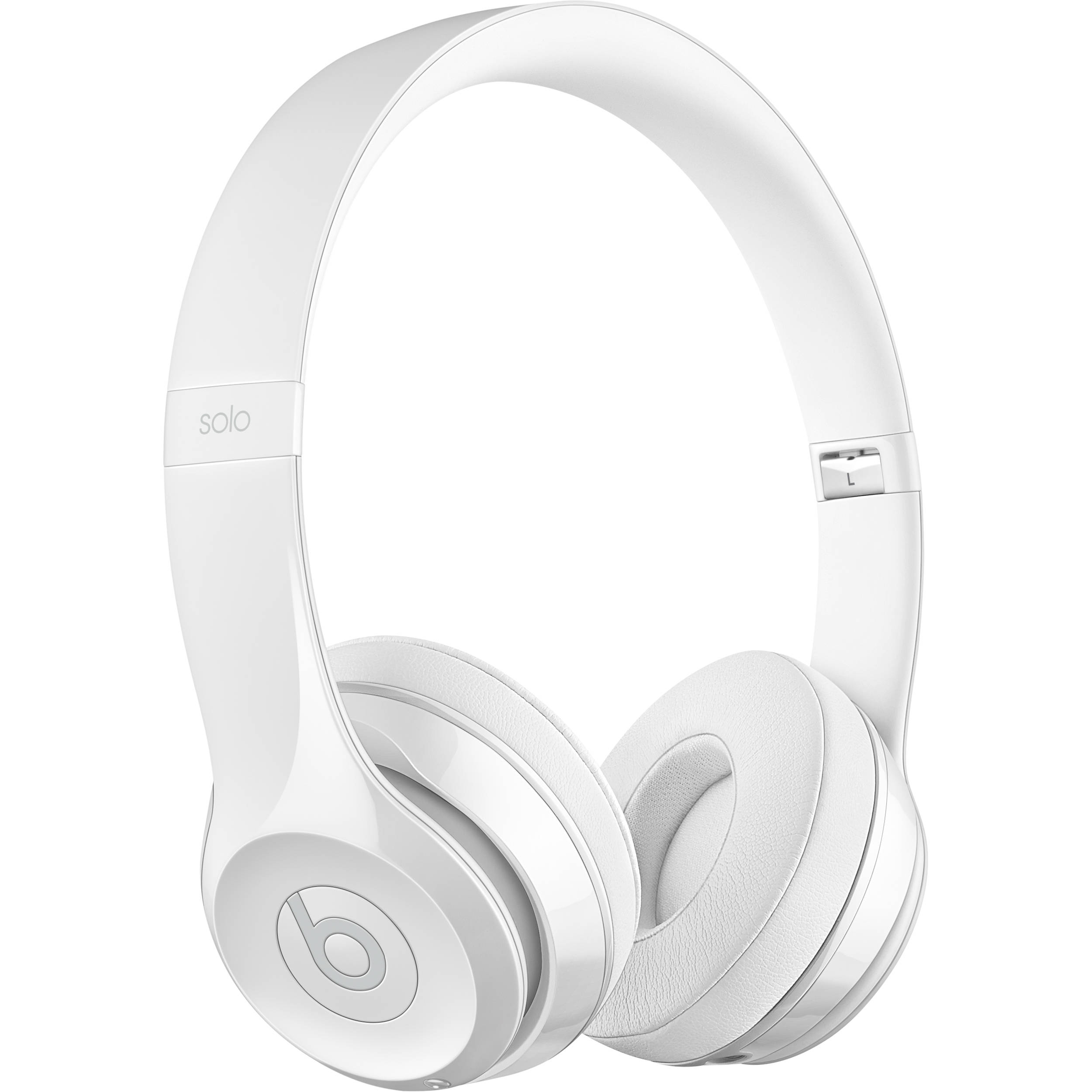 Beats by Dr  Dre Beats Solo3 Wireless On-Ear Headphones (Gloss White / Core)