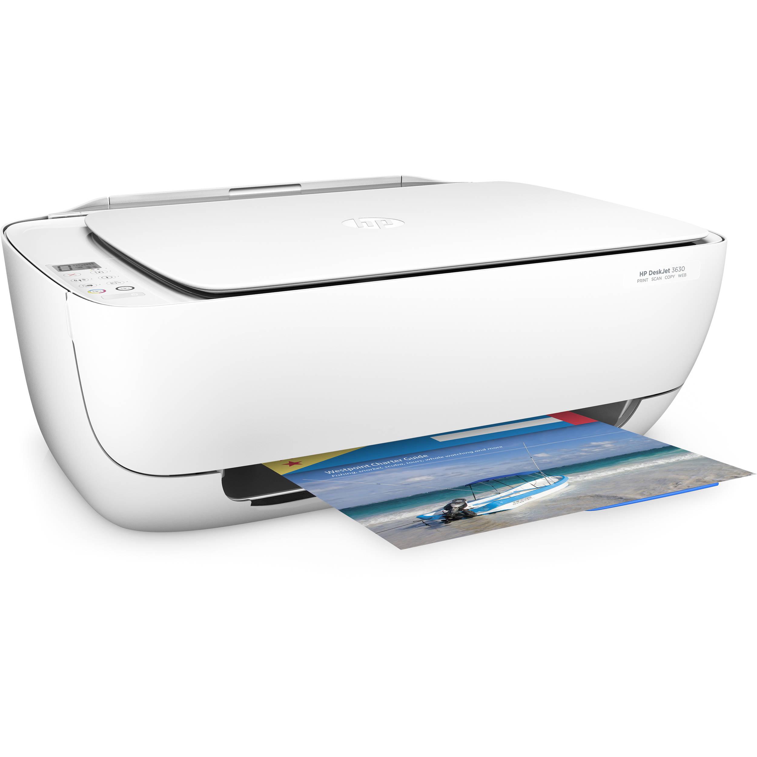 HP DeskJet 3630 All-in-One Inkjet Printer