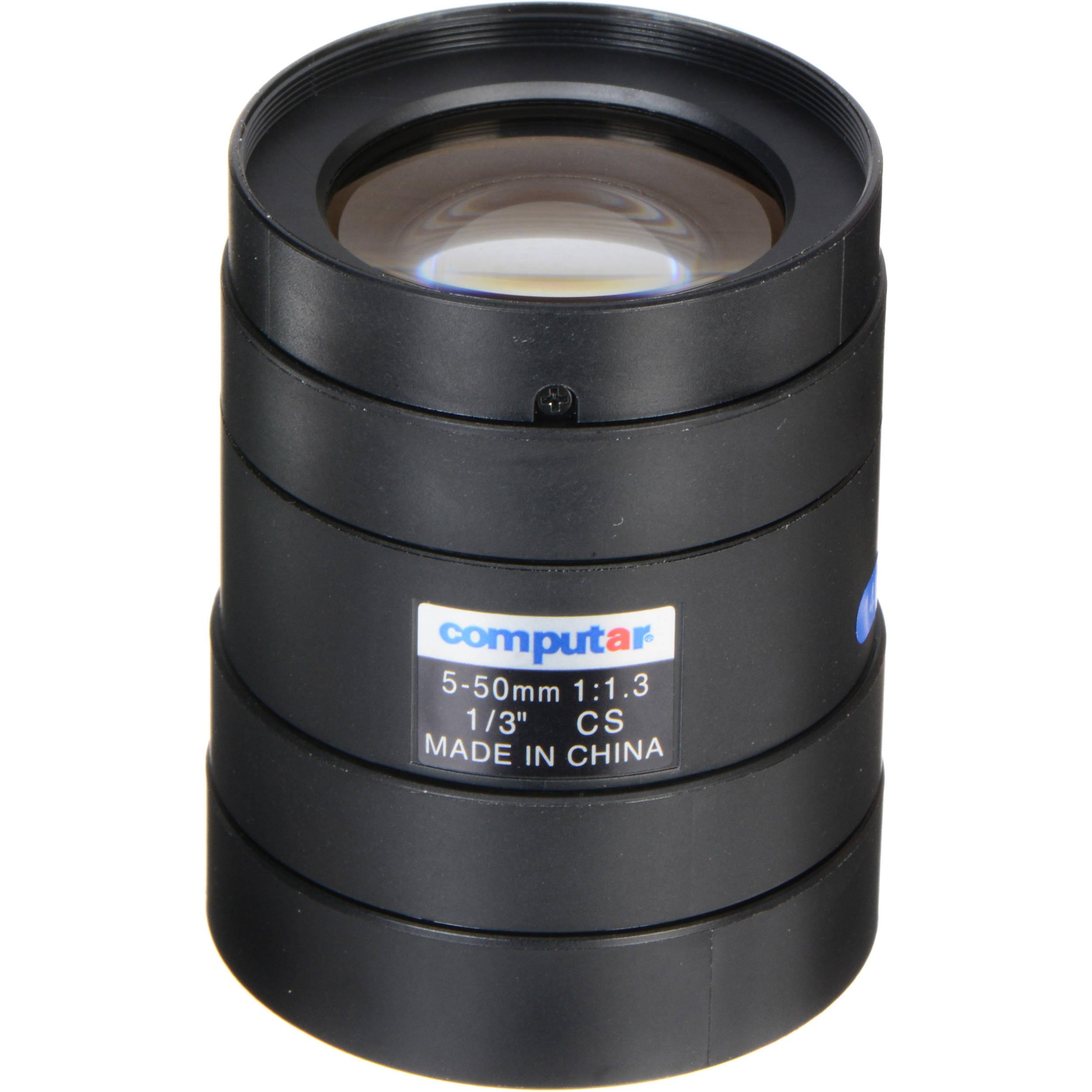 "1//3/"" 5-50mm Manual Iris T10Z0513CS Computar Lens"