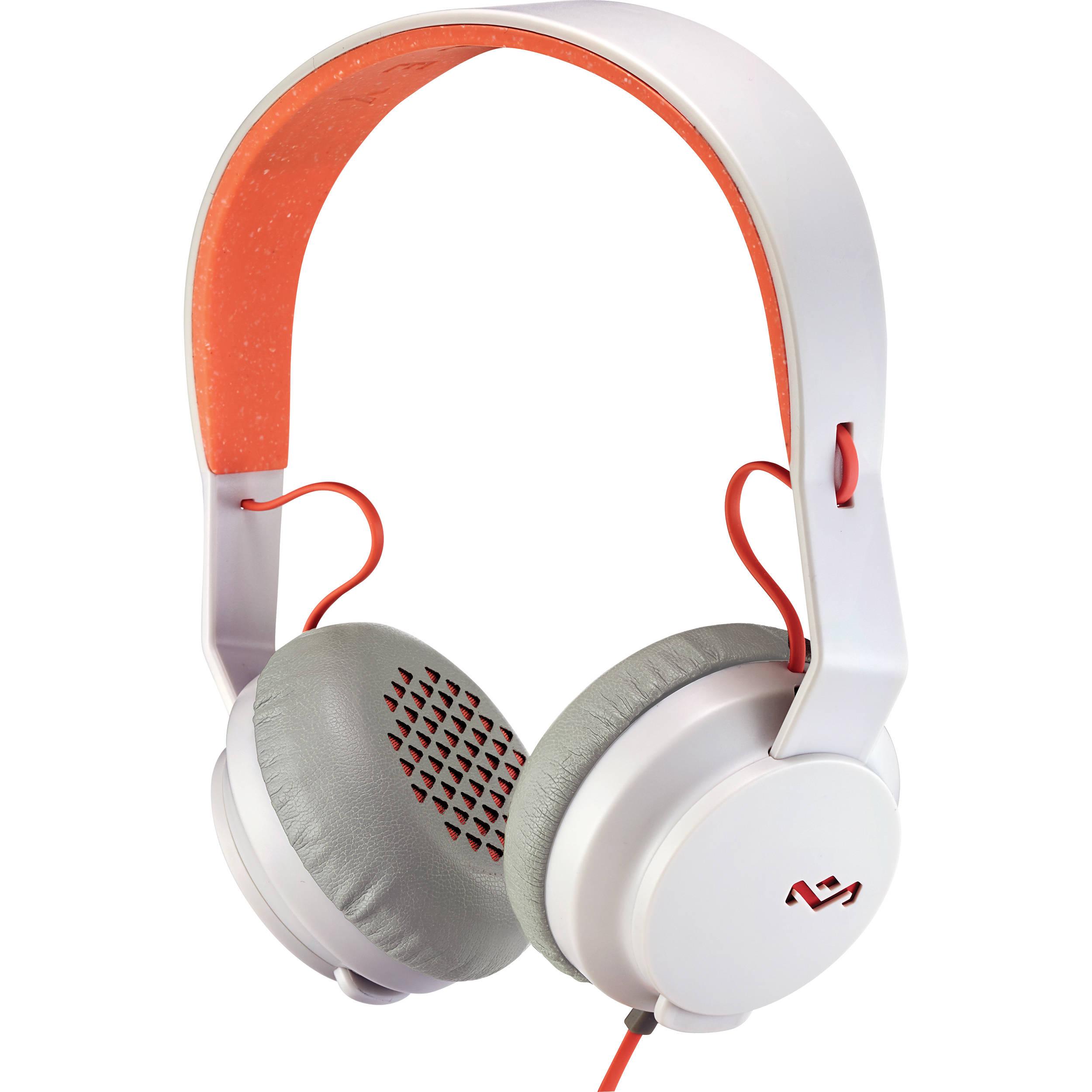 House of Marley EM-JH081 Rebel On-Ear Headphones (Peach)