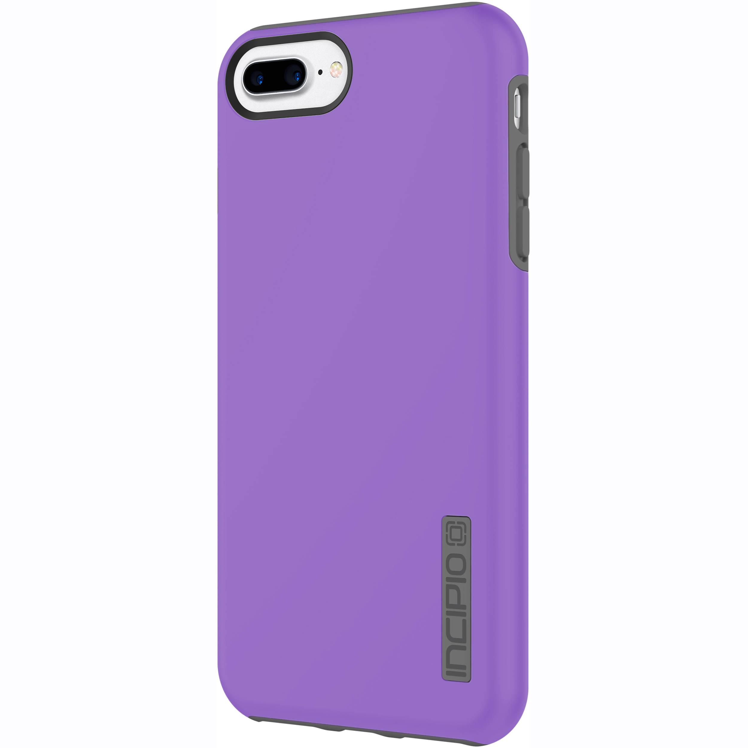 pretty nice 468de 27461 Incipio DualPro Case for iPhone 7 Plus (Purple/Charcoal)