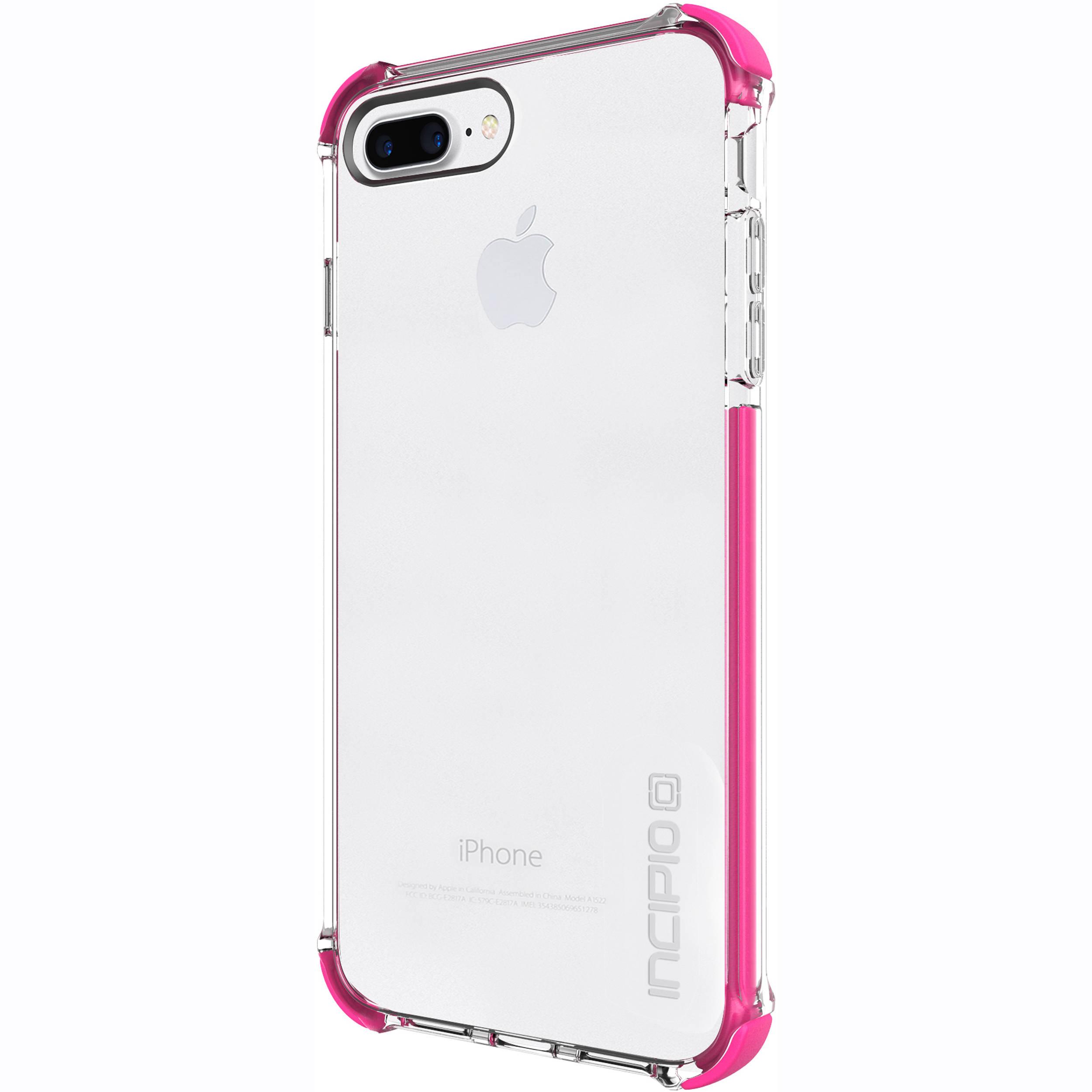 sports shoes 71e7e baae6 Incipio Reprieve [SPORT] Case for iPhone 7 Plus (Clear/Pink)