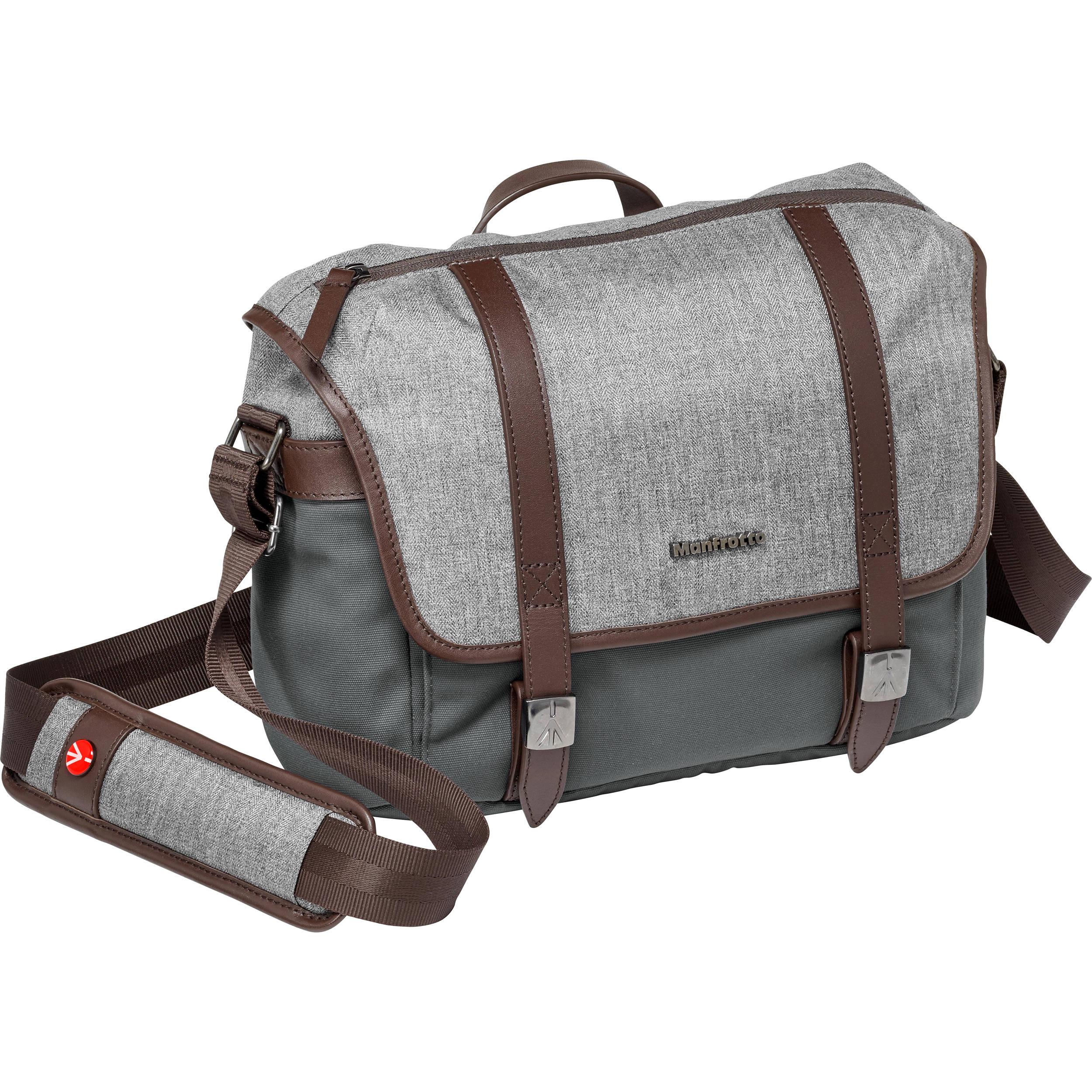 274489591edf6e Manfrotto Windsor Camera Messenger Bag (Small, Gray) MB LF-WN-MS