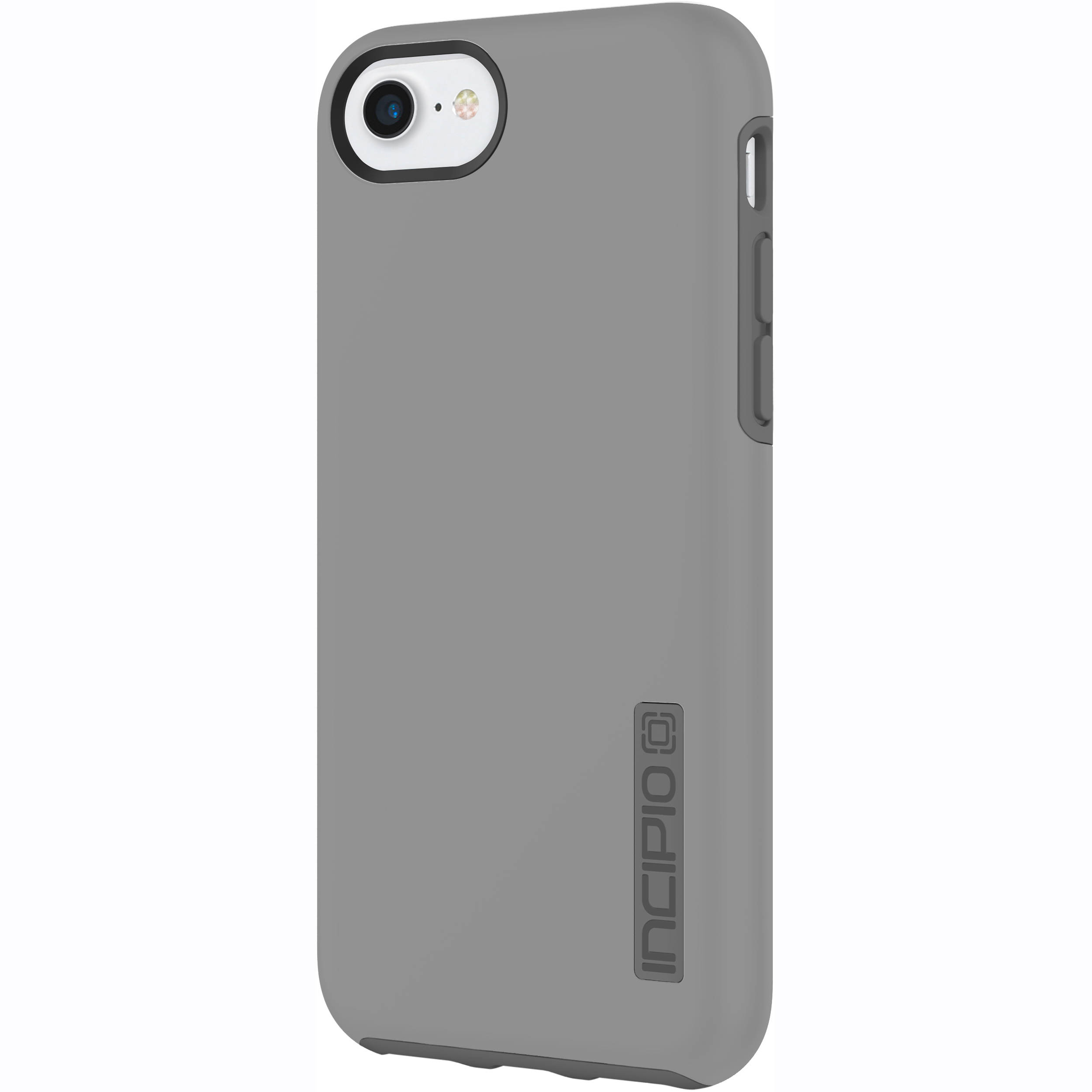 new styles f7e11 46747 Incipio DualPro Case for iPhone 7 (Gray/Charcoal) IPH-1465-GCH