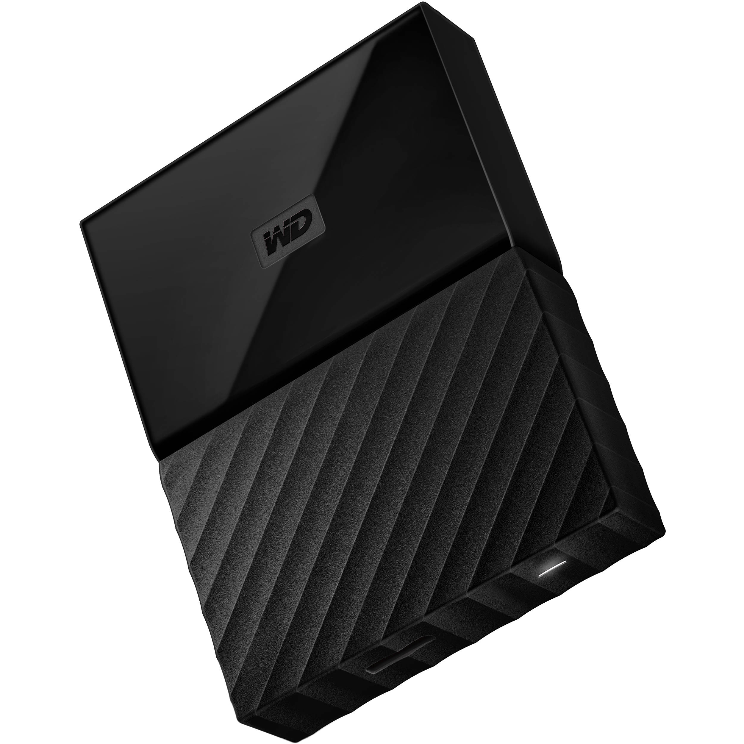 WD 4TB My Passport USB 3 0 Secure Portable Hard Drive (Black)