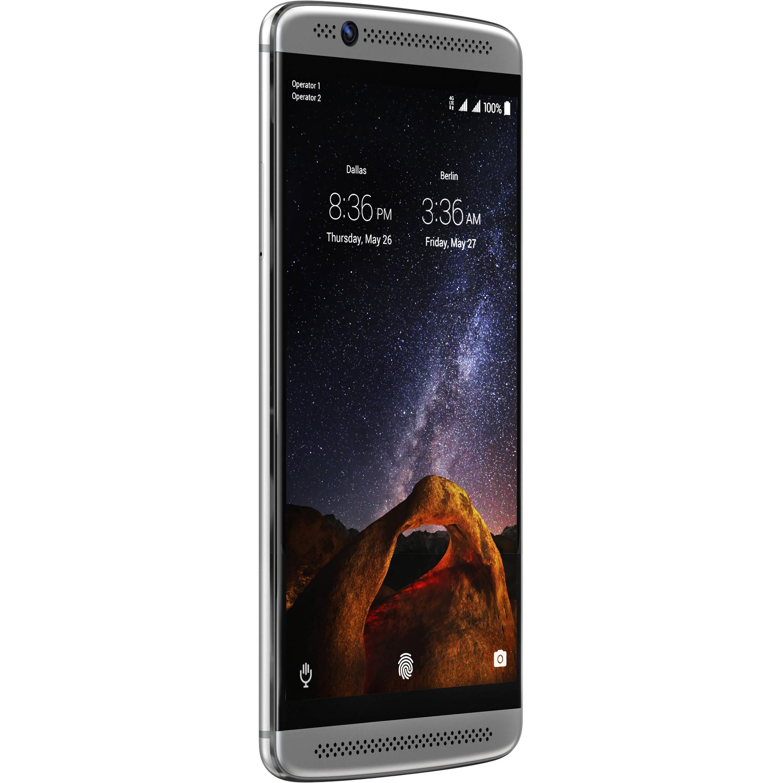 ZTE Axon 7 mini 32GB Smartphone (Unlocked, Platinum Gray)