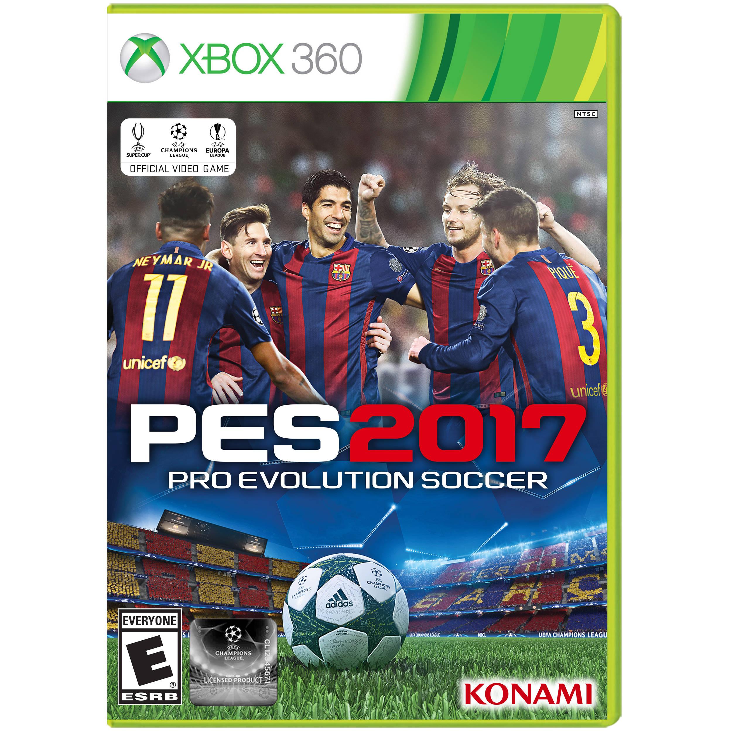 Konami Pro Evolution Soccer 2017 (Xbox 360)