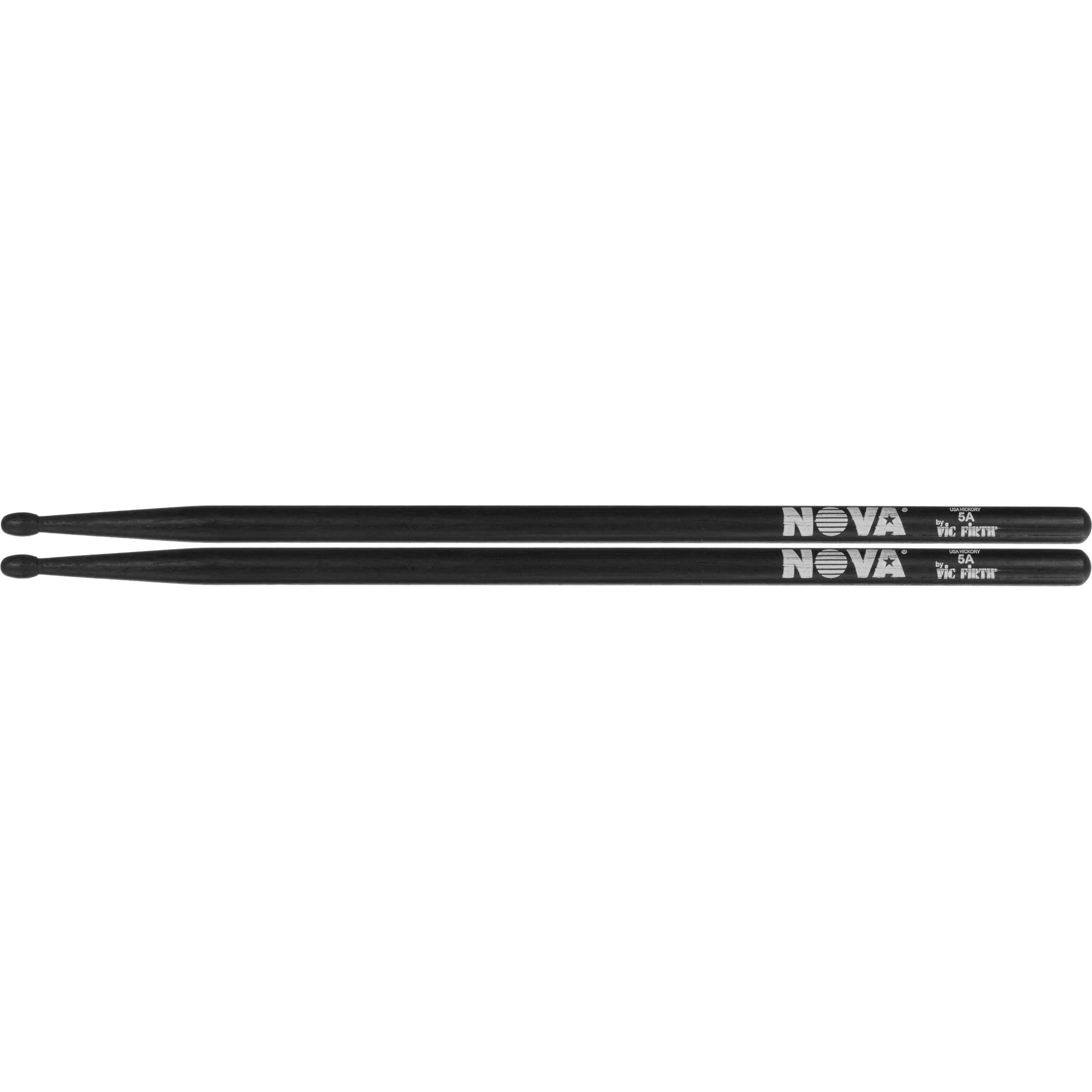 Vic Firth Nova Drumsticks 5AB schwarz lackiertNeu