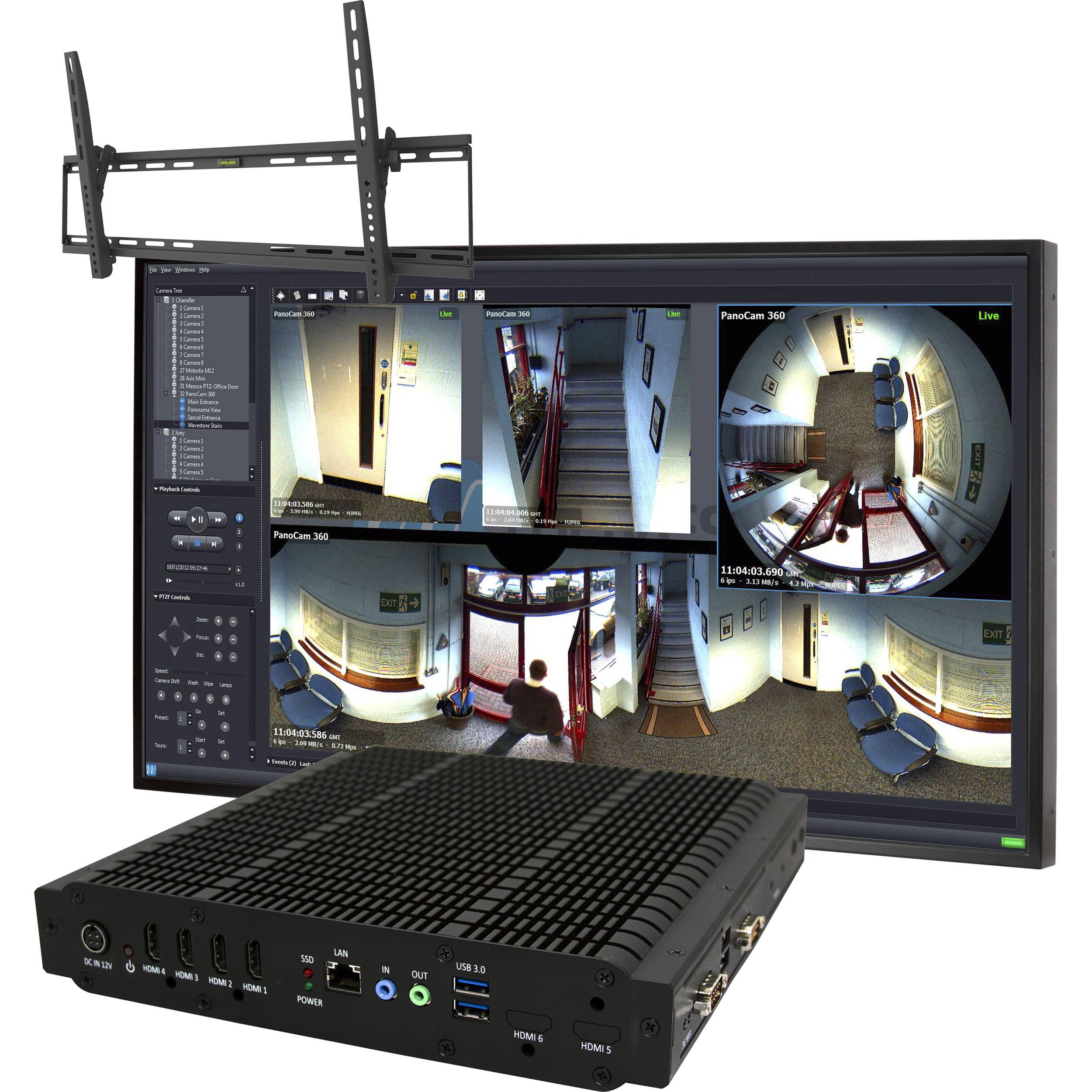 ViewZ CCTV Video Wall In A Box VZ-4KVWB2 B&H Photo Video