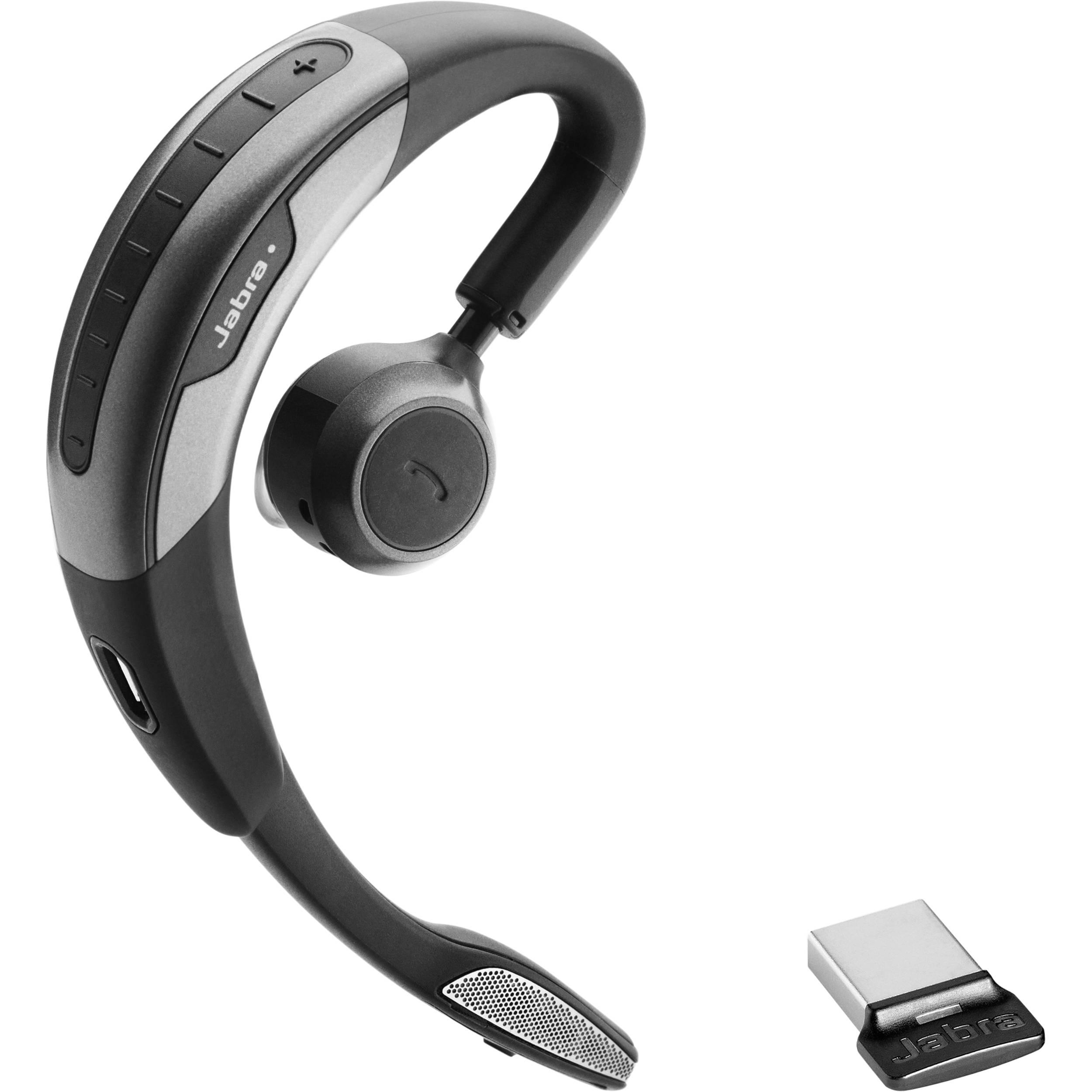 Jabra Motion UC MS USB Wireless Headset with Dongle