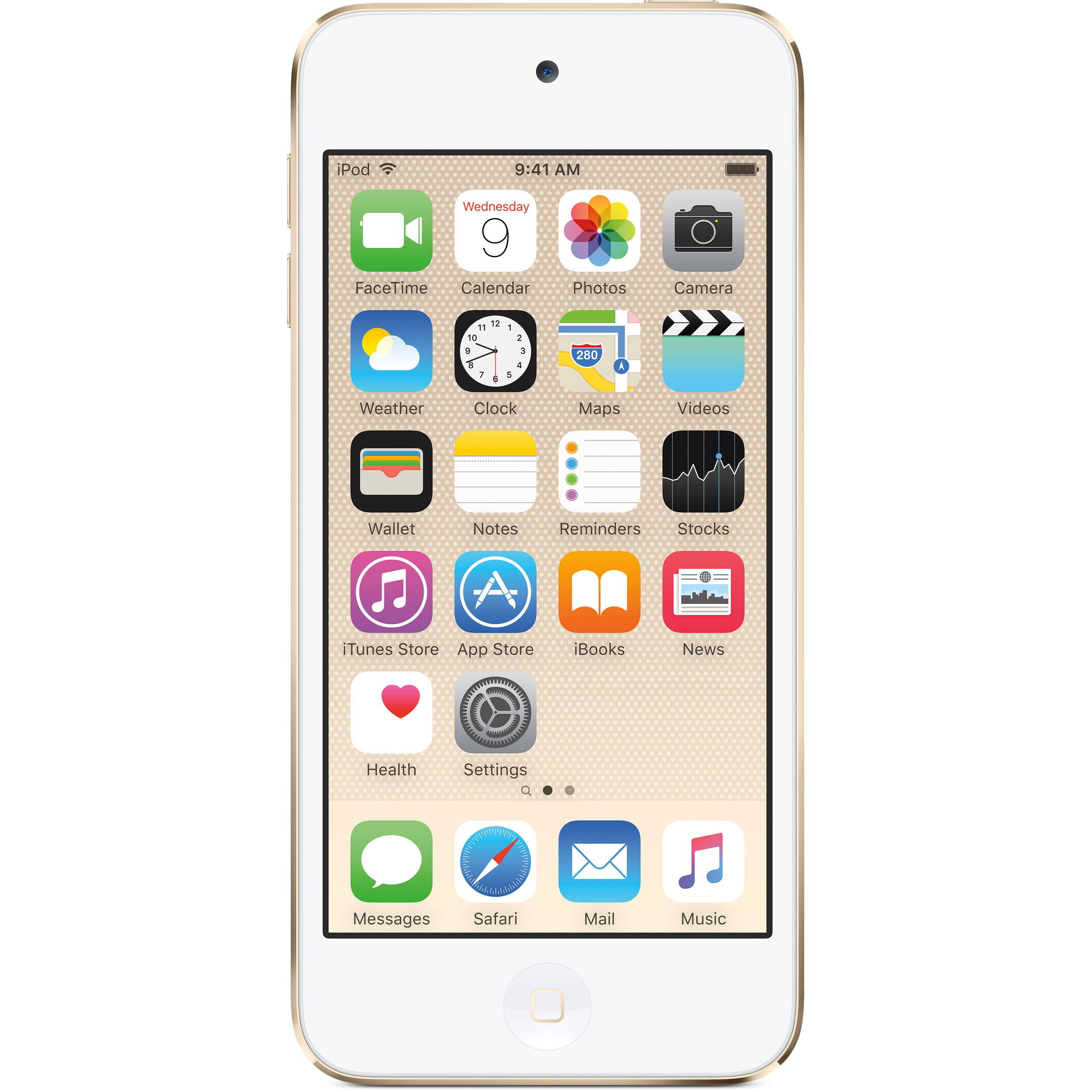 Apple 128GB iPod touch (6th Generation, Gold)