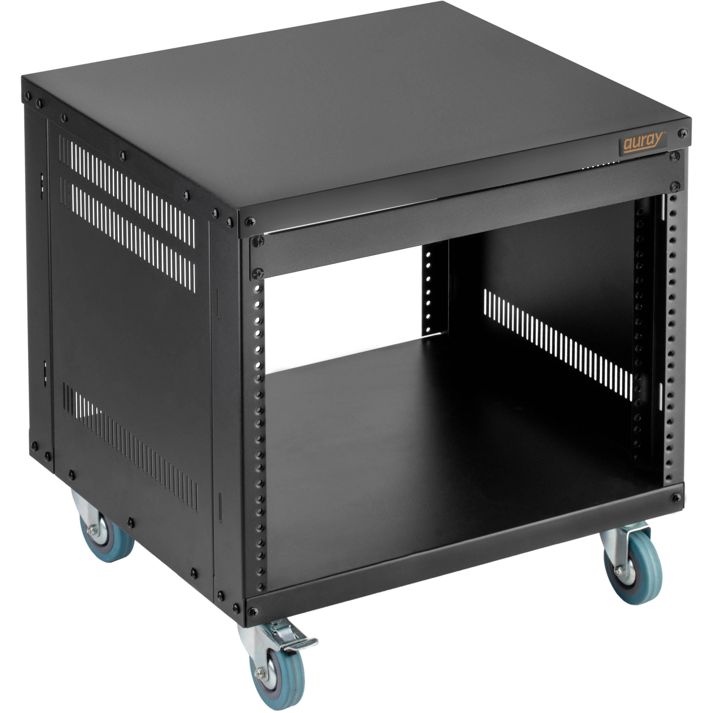 Auray ERS- 8U Steel Equipment Rack with 3