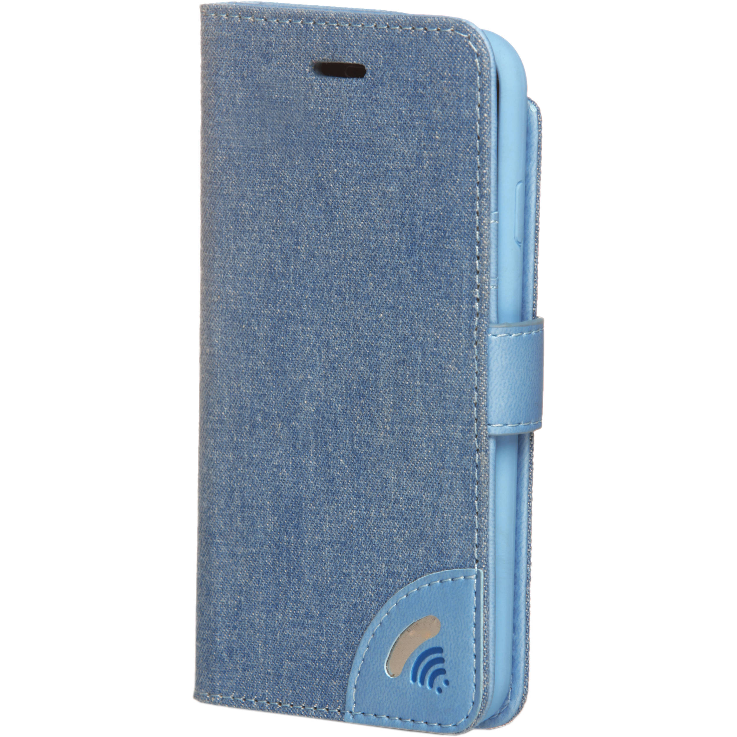 uk availability f7d2a ffbc3 VEST Anti-Radiation Wallet Case for iPhone 7 (Jeans)