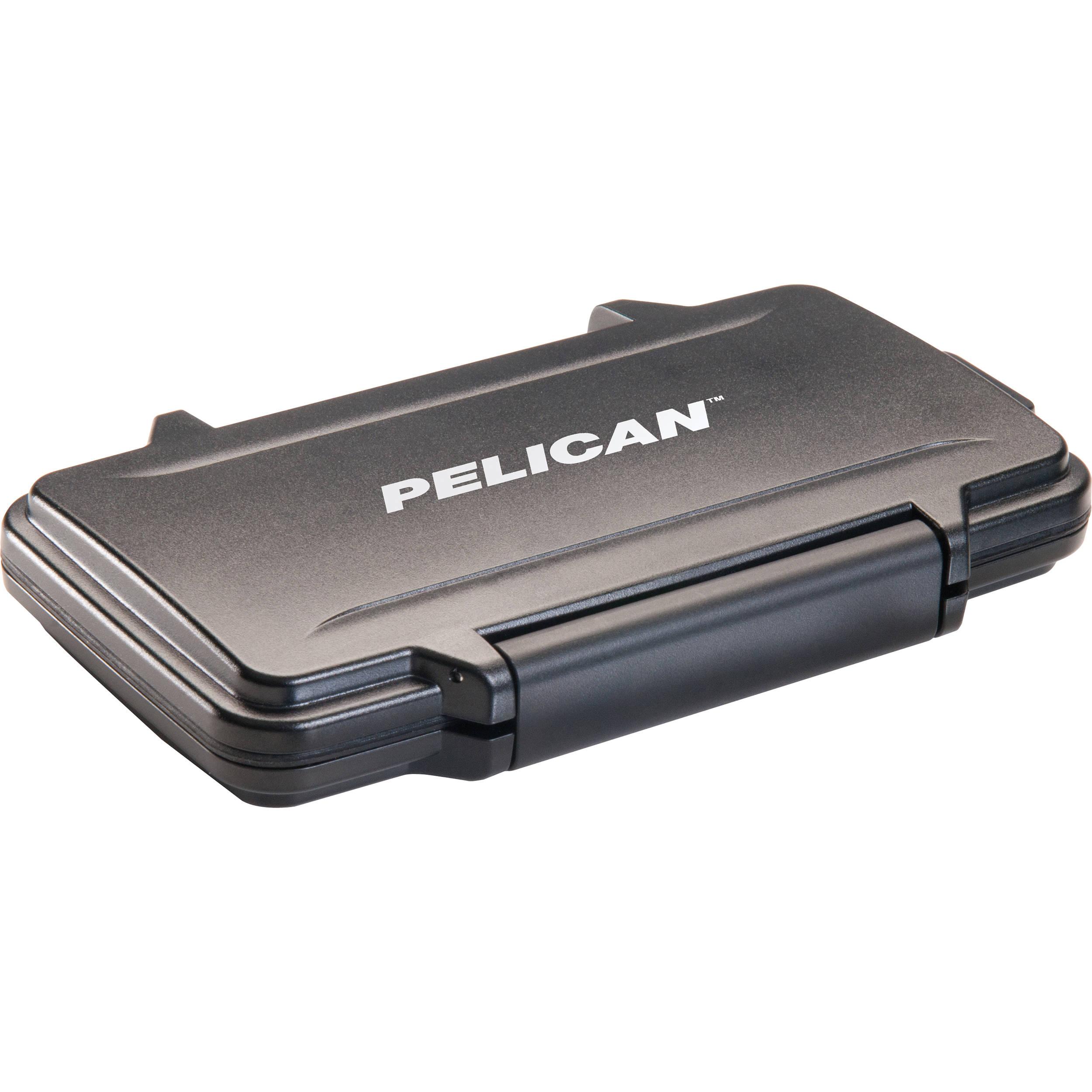 info for 128da 21d45 Pelican 0915 Memory Card Case for 12 SD, 6 miniSD, and 6 microSD Cards  (Black)