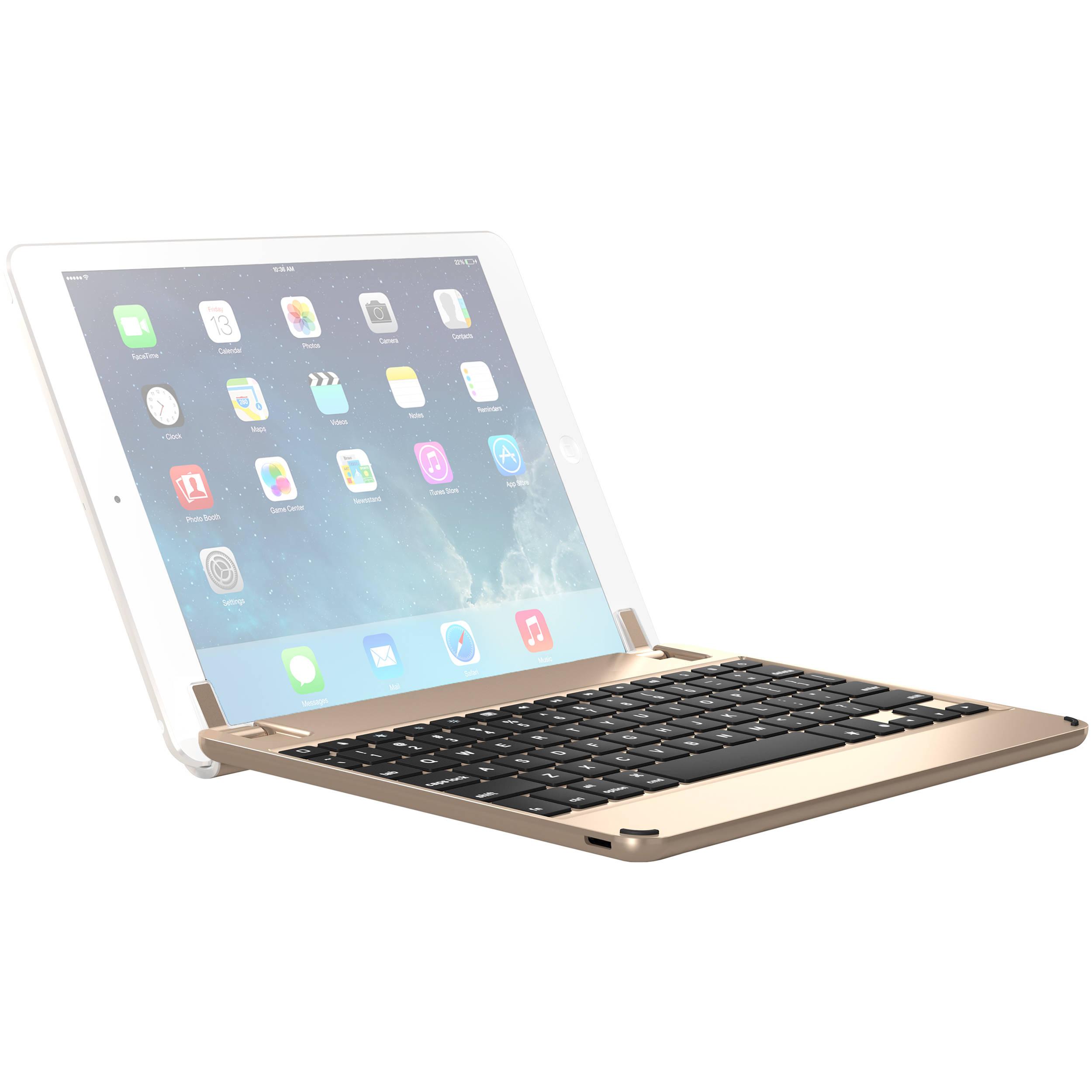 Brydge 9 7 Bluetooth Keyboard For Ipad Air 1 2 Pro Bry1013 B H