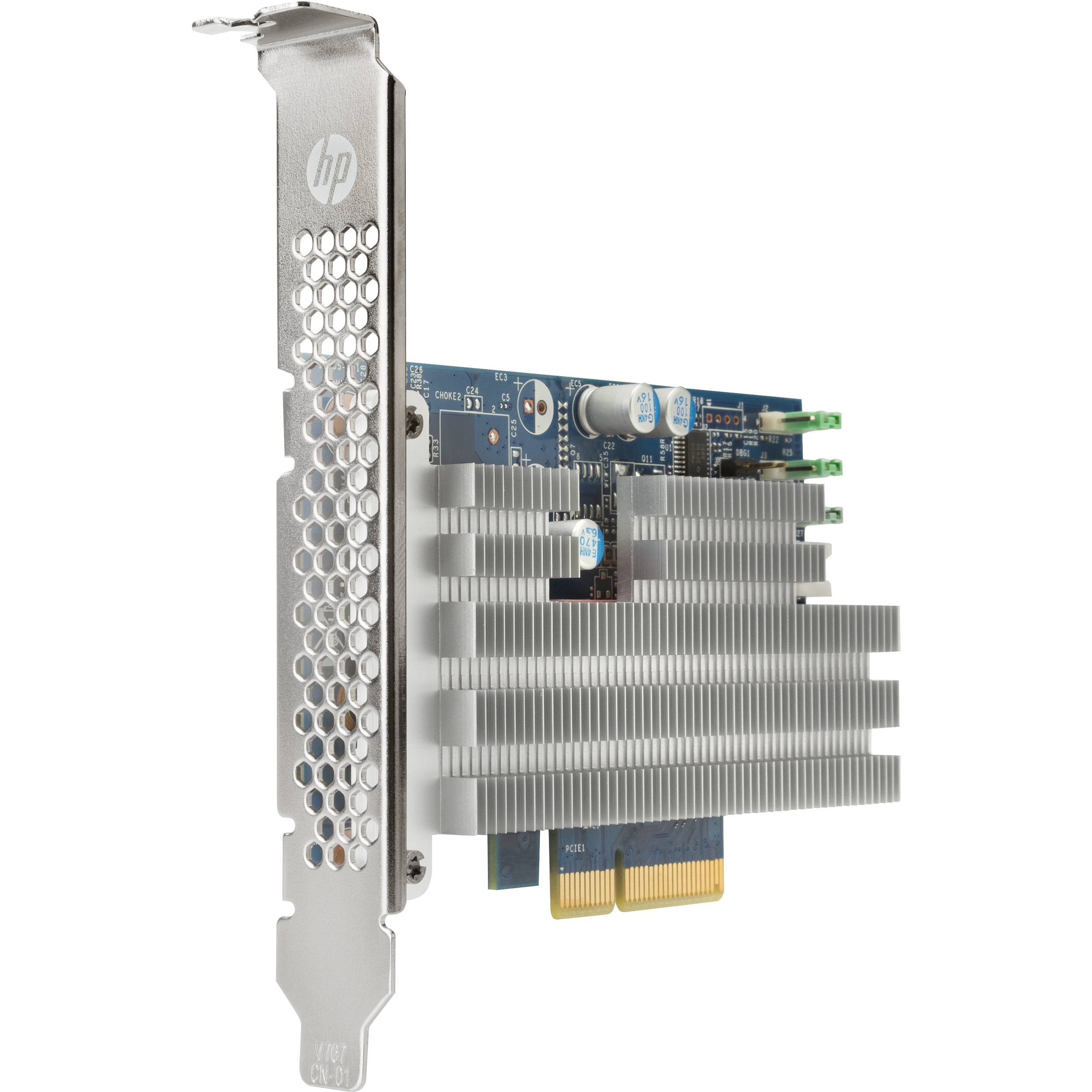 HP Turbo Drive Quad Pro PCIe SSD for Z Workstations (2 x 1TB)