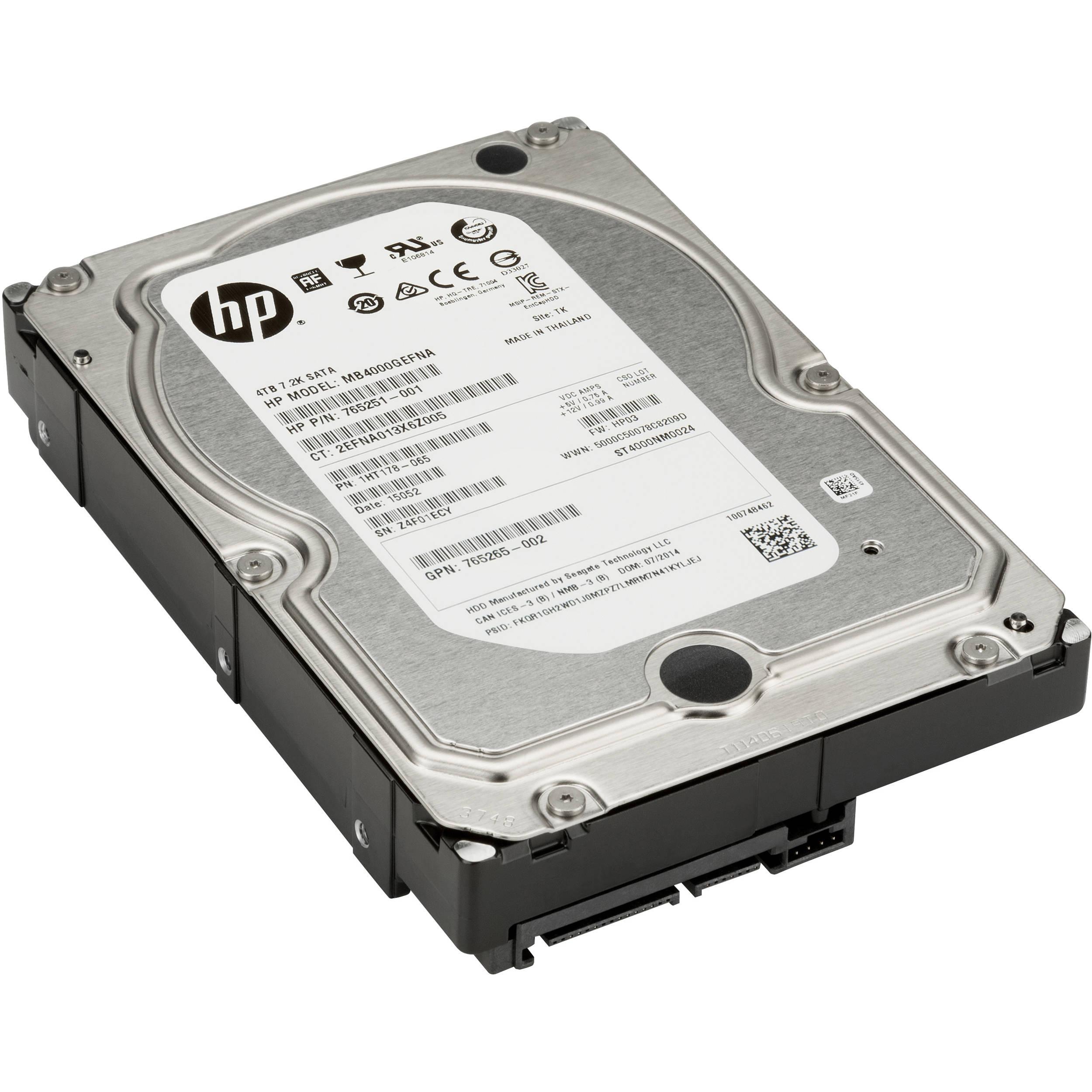 HP 3TB SATA 6 Gb/s 7200 rpm Hard Drive
