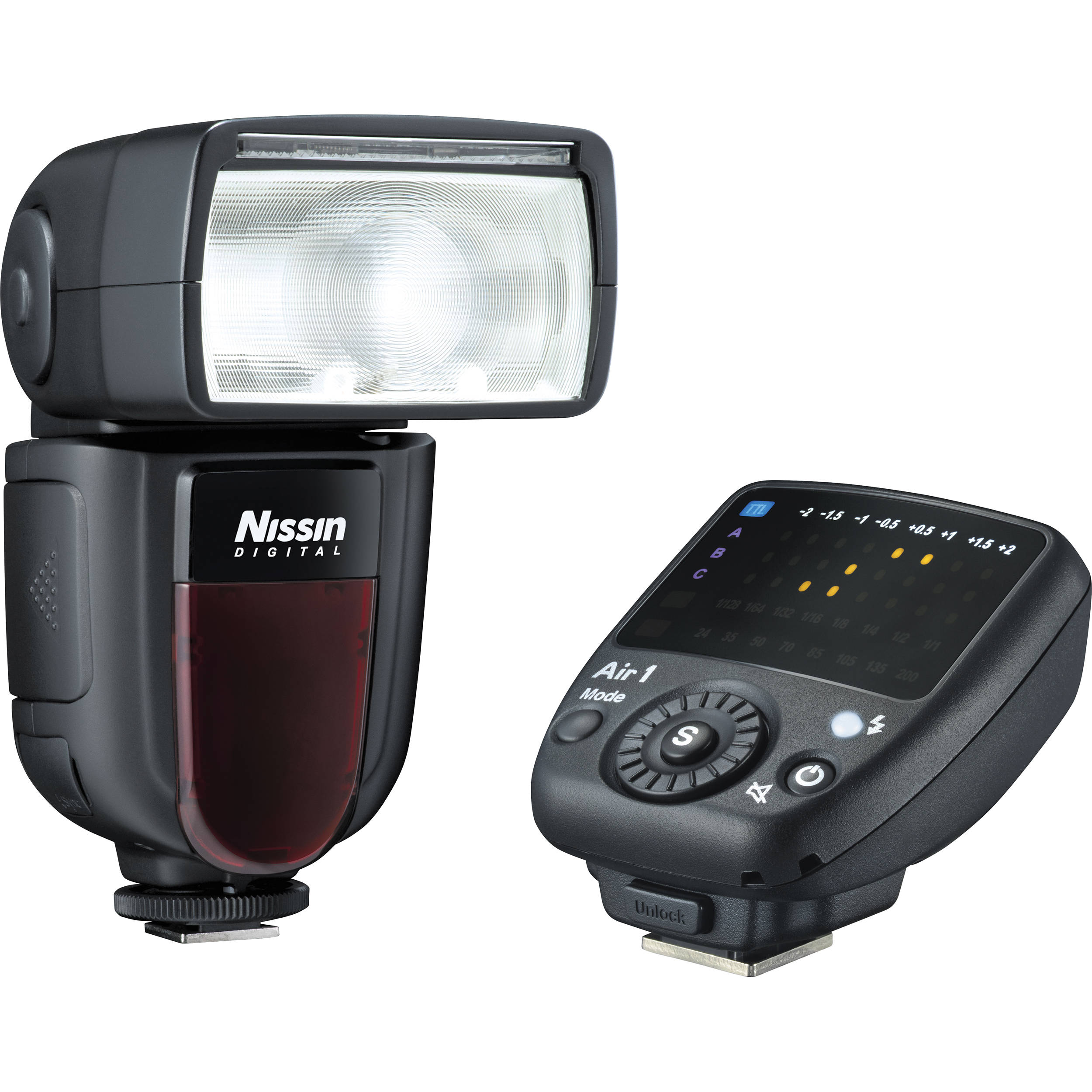 Nissin Di700a Flash Kit With Air 1 Commander For Micro
