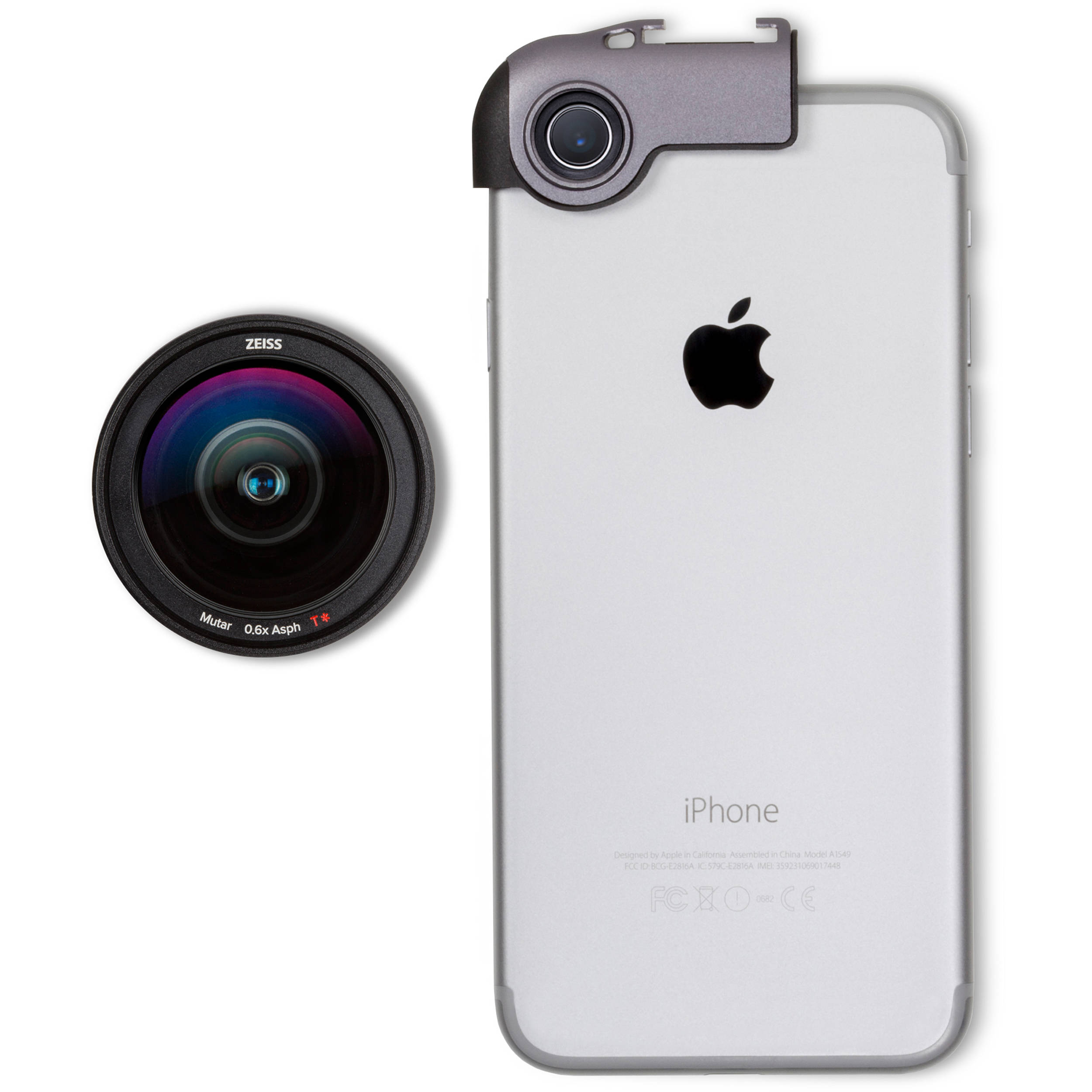 new style 0cefc 3cb3f ExoLens PRO Wide-Angle Kit for iPhone 6/6 Plus/6s/6s Plus/7