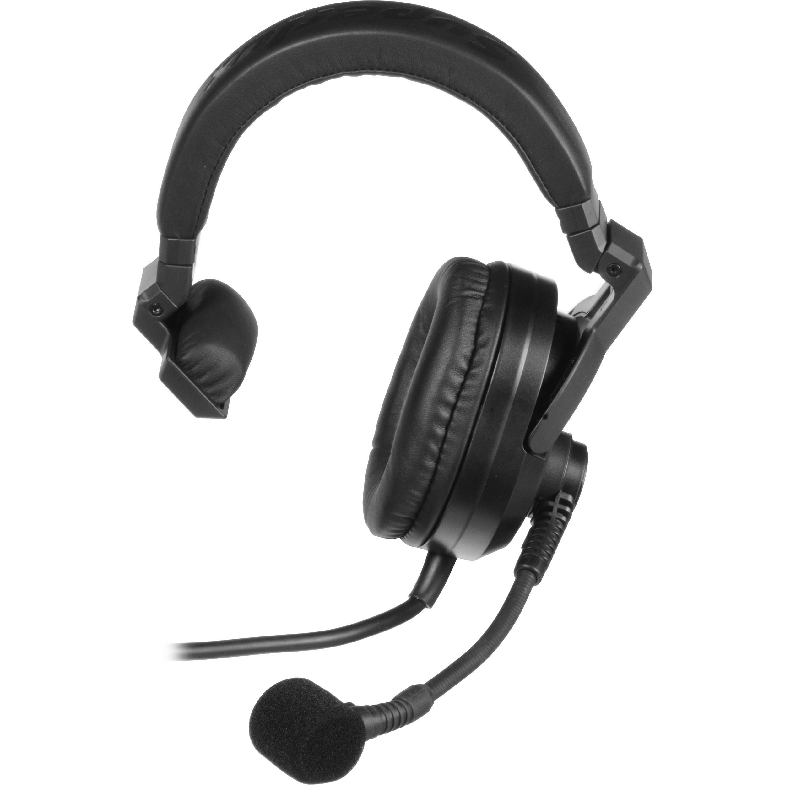 Superlux Hmd 685a Professional Intercom Headset And Boom Microphone