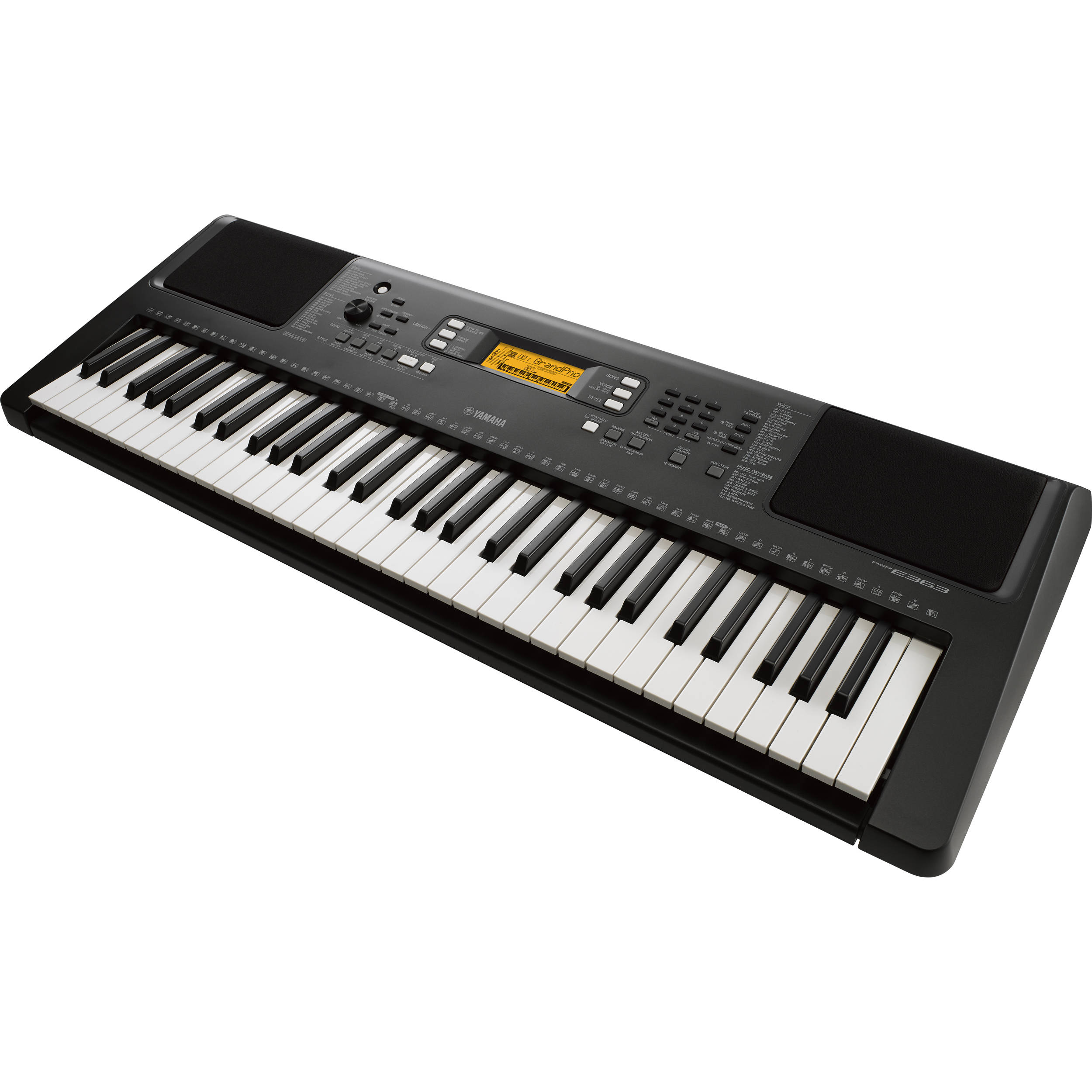 Yamaha PSR-E363 Touch-Sensitive Portable Keyboard