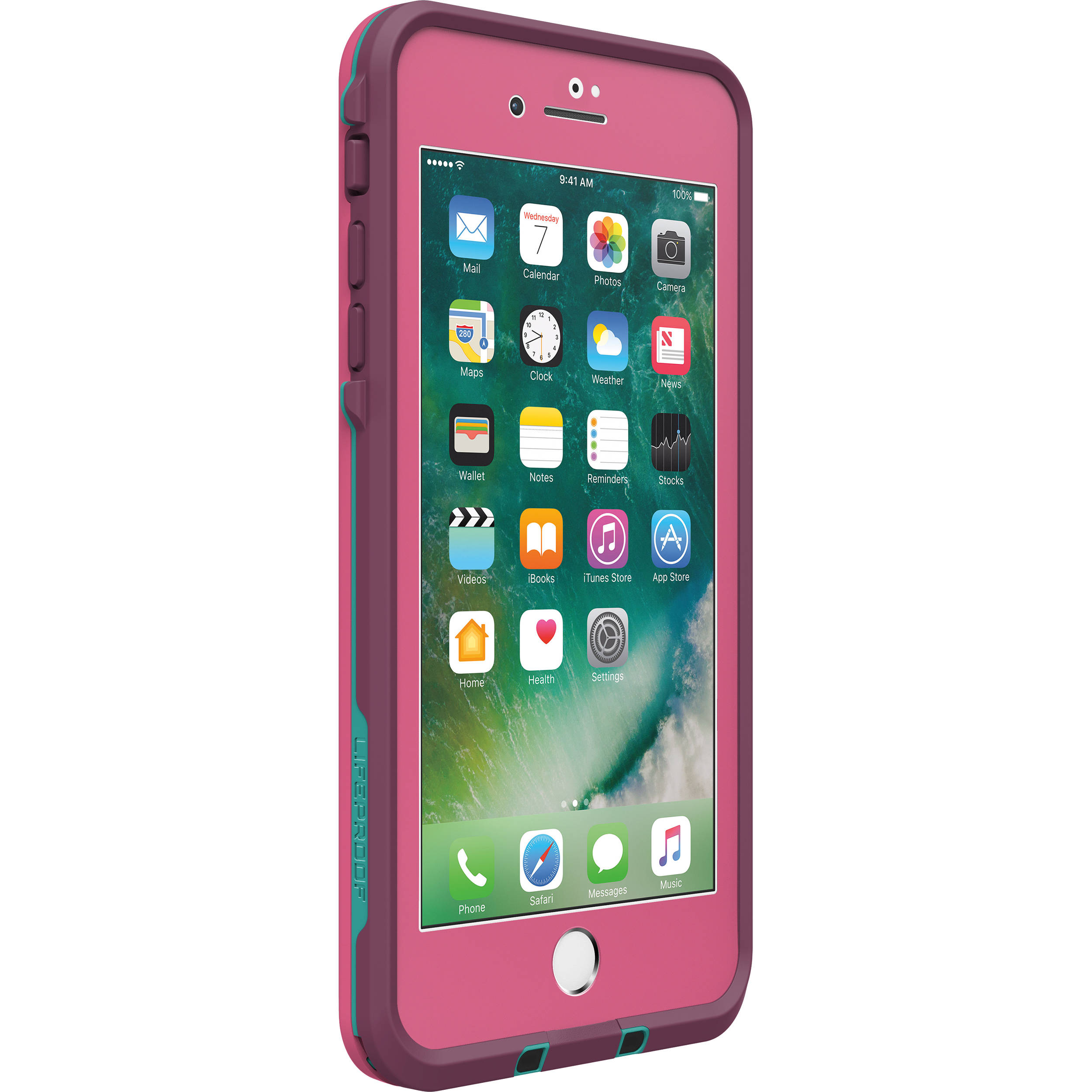 save off 5f2ac 94a25 LifeProof frē Case for iPhone 7 Plus (Twilight's Edge Pink)