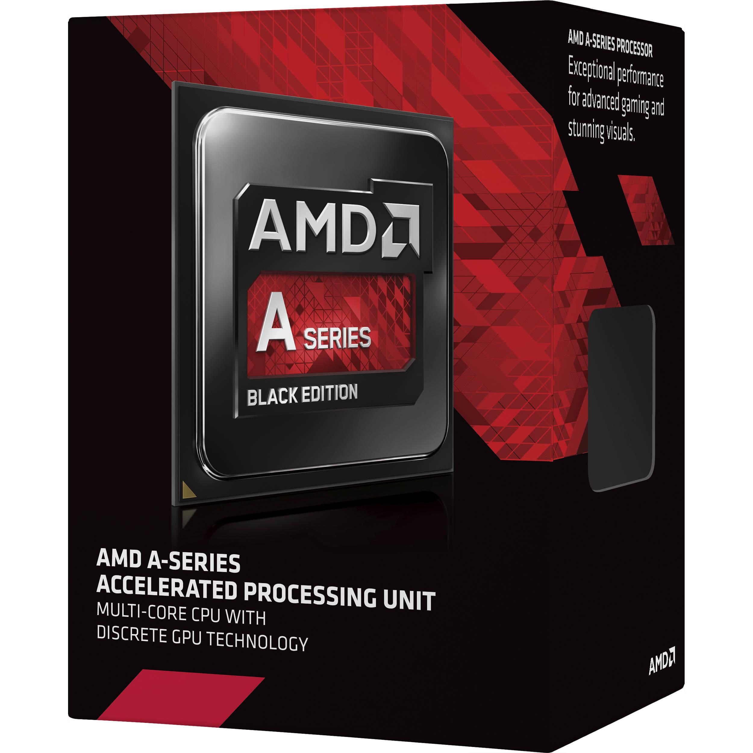 Amd A6 7400k 3 5 Ghz Dual Core Fm2 Processor Ad740kybjabox B H