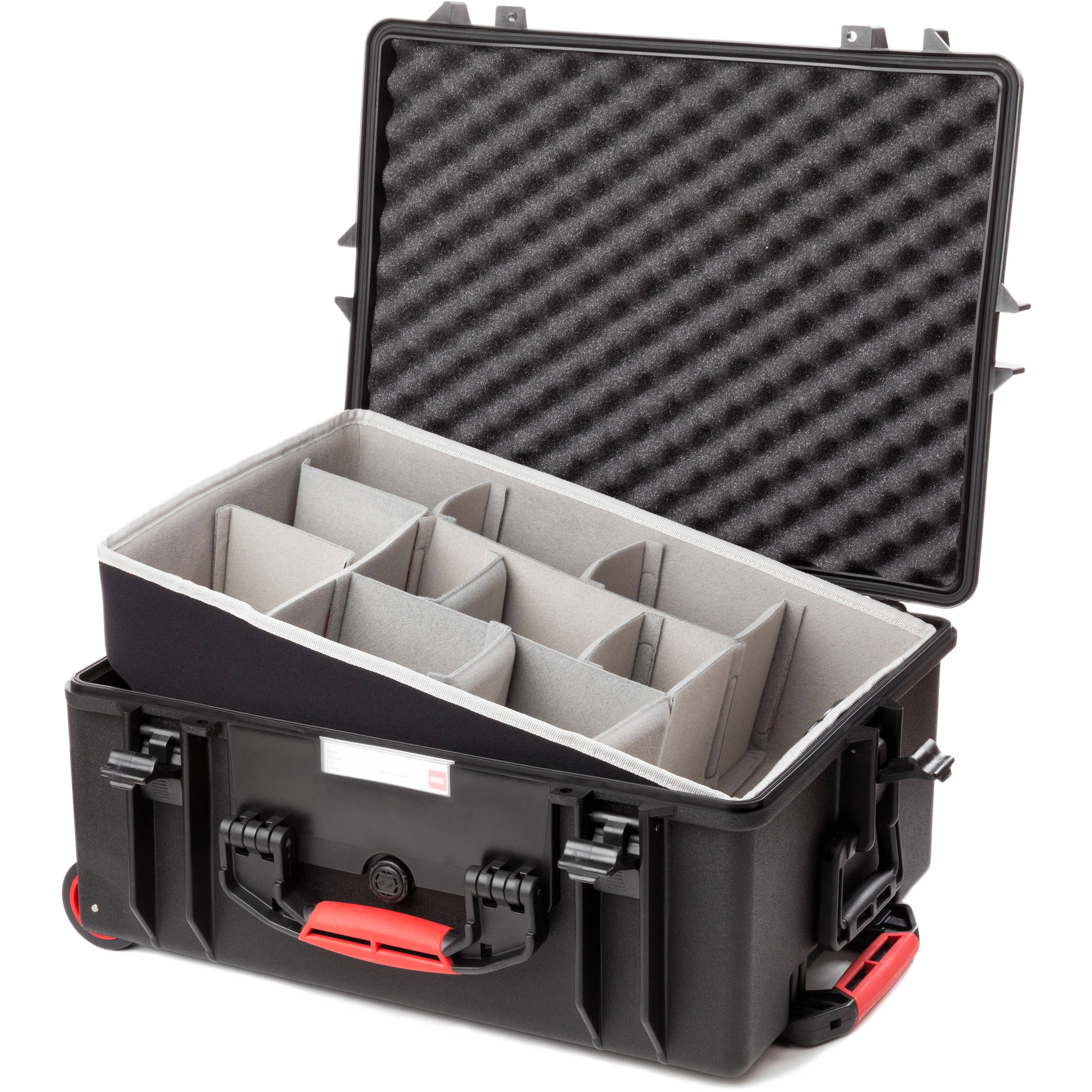 dd6051ecdca5 HPRC 2600W Rolling Resin Case with Second Skin and Dividers Kit