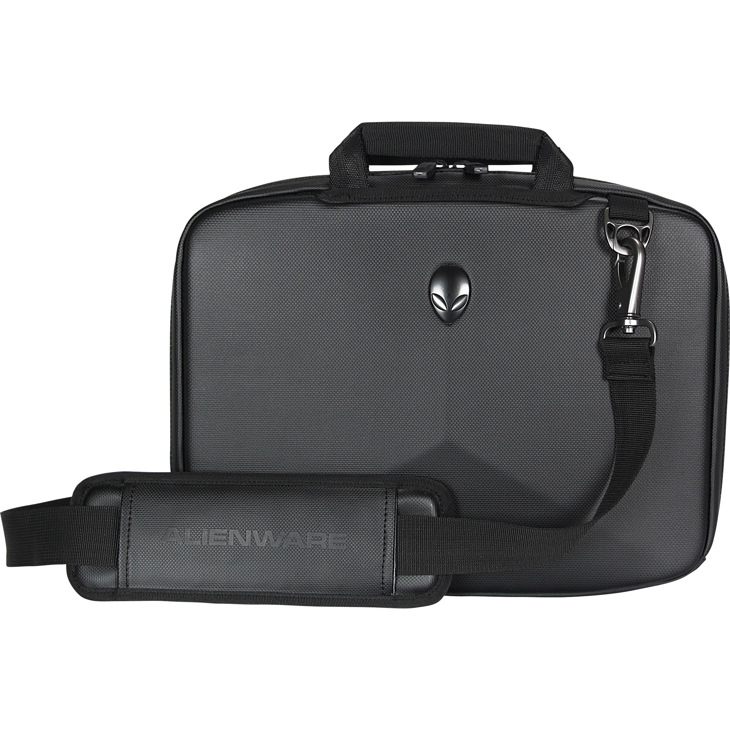 "Notebook Carrying Case Alienware Orion Messenger 17.3/"" Laptop Travel Bag Black"