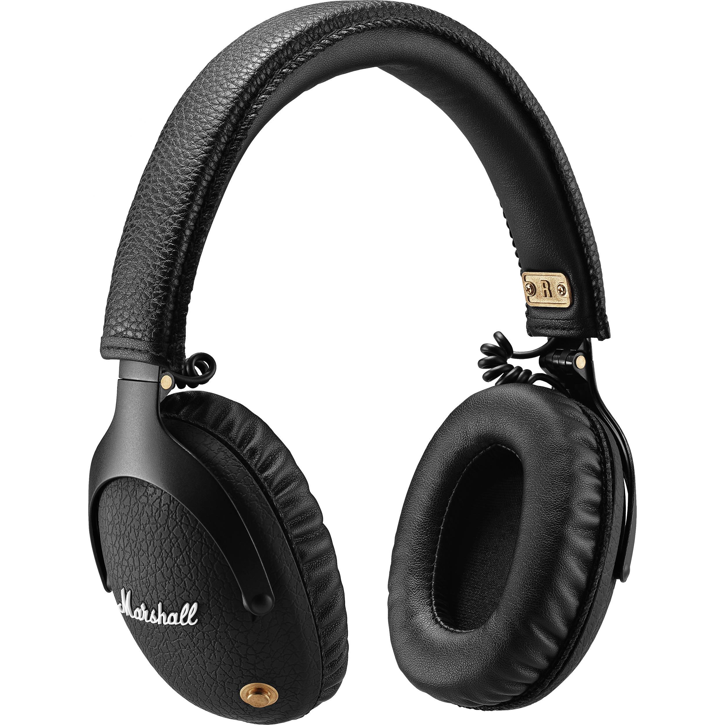 Marshall Monitor Over-Ear Bluetooth Headphones (Black)
