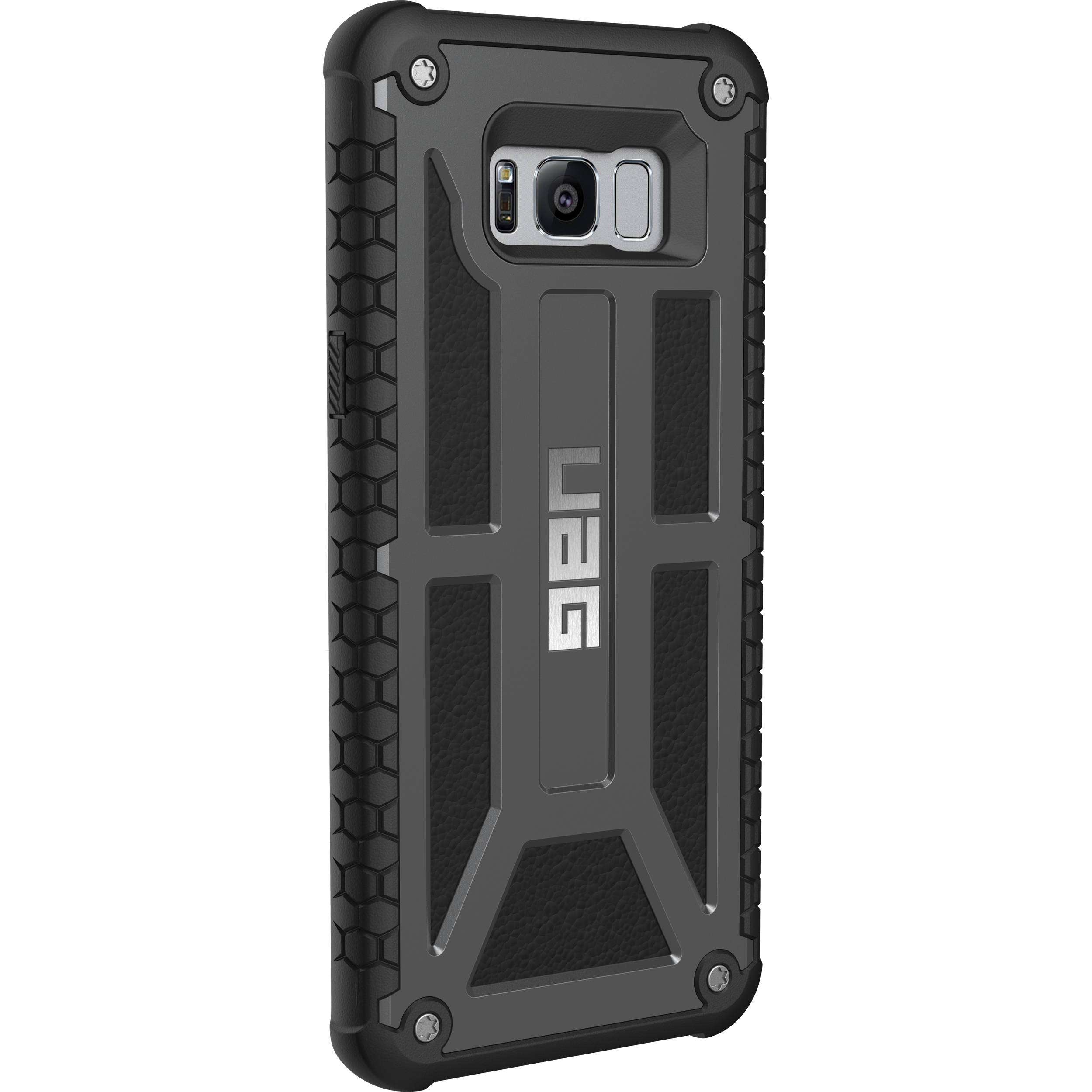 best service 5b3c9 46e73 Urban Armor Gear Monarch Case for Galaxy S8+ (Graphite)