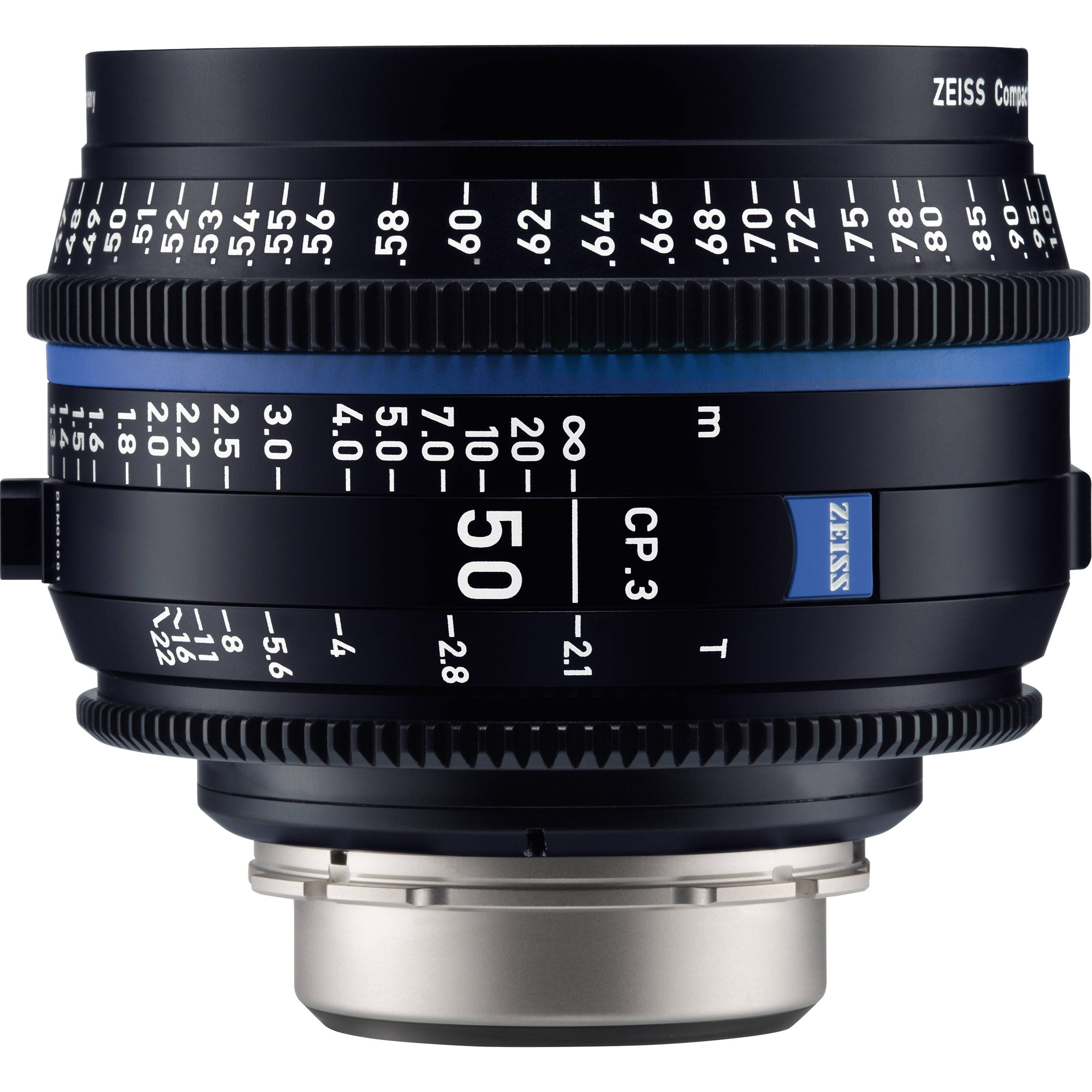 ZEISS CP 3 50mm T2 1 Compact Prime Lens (MFT Mount, Feet)