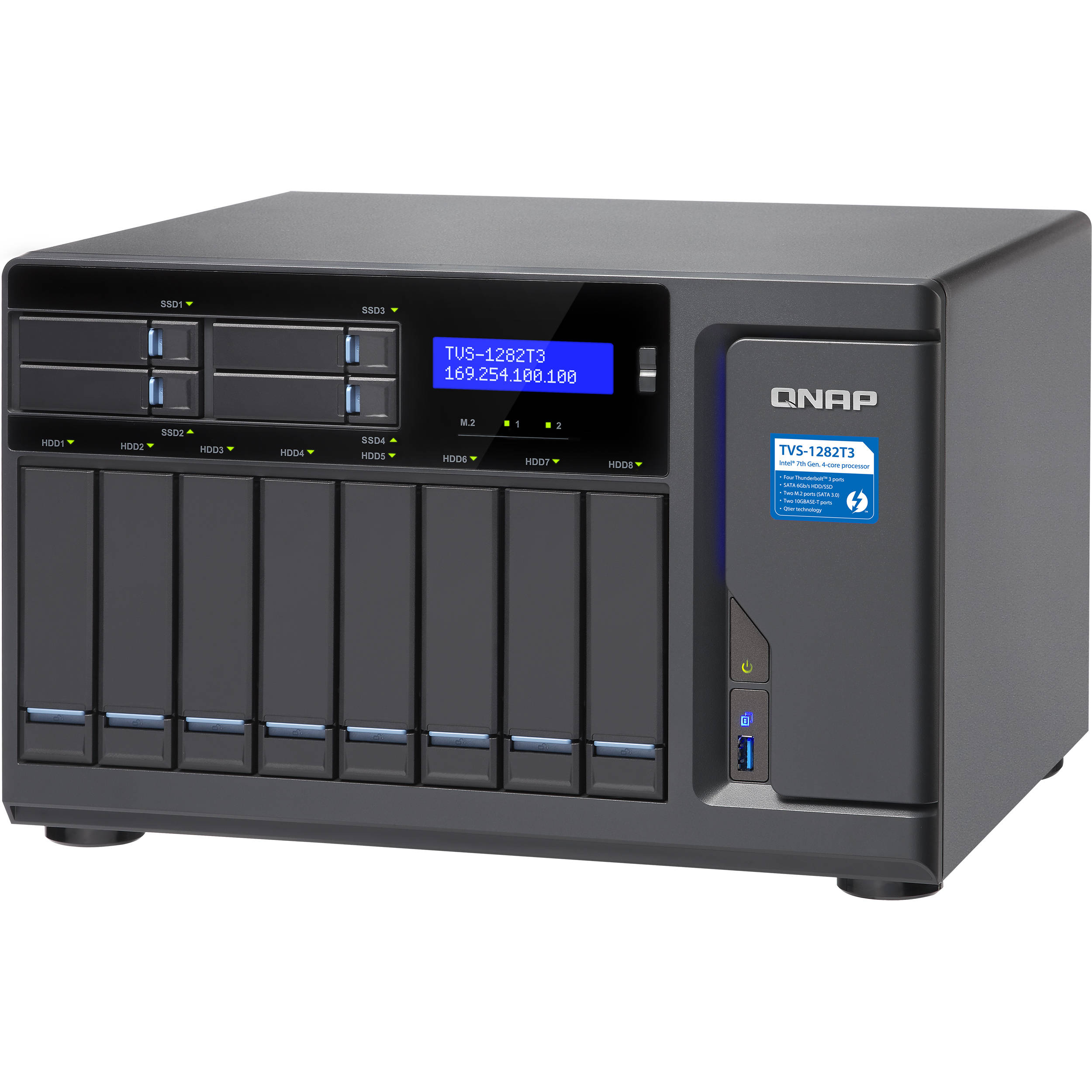 QNAP TVS-1282T3 12-Bay NAS Enclosure