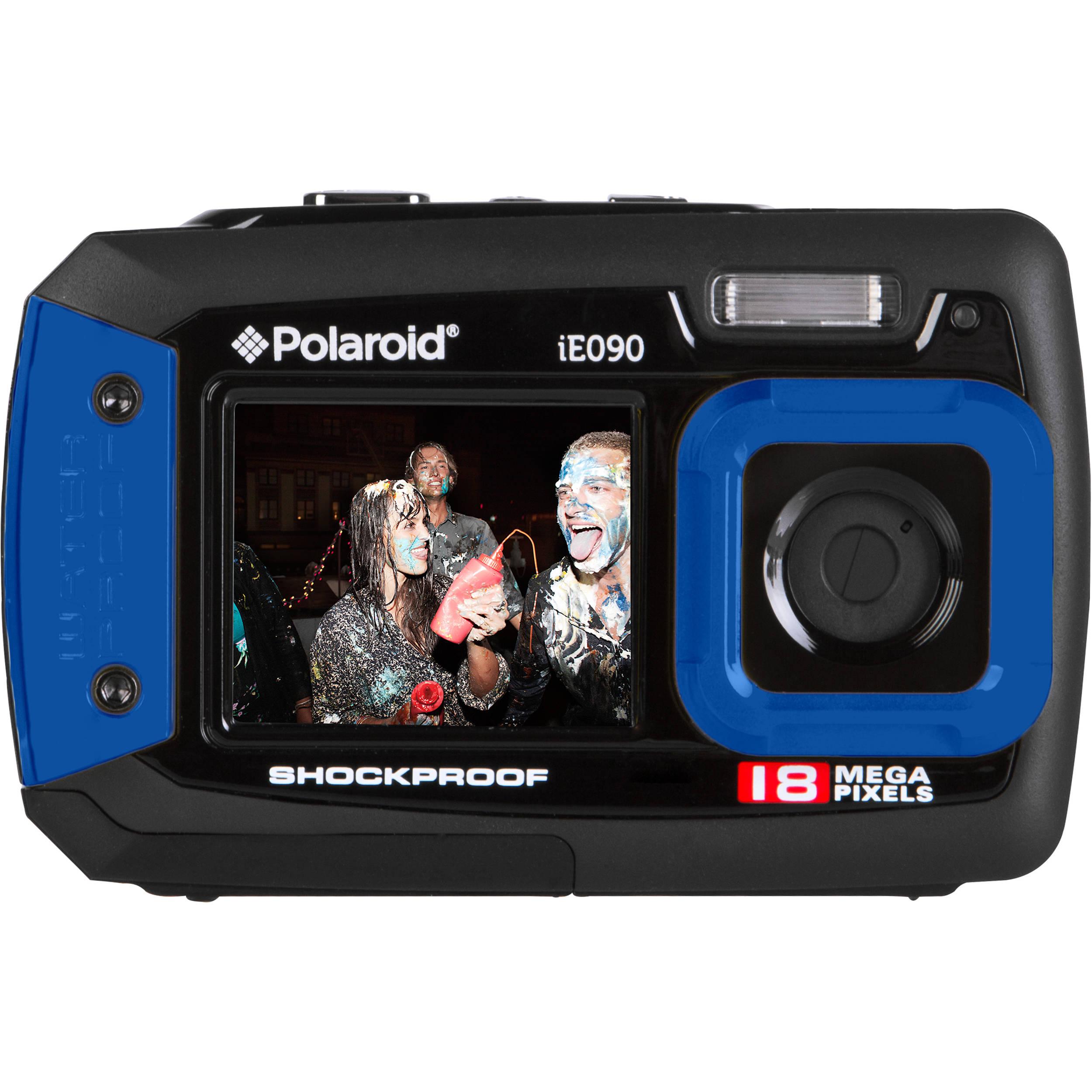Polaroid iE090 Digital Camera (Blue)