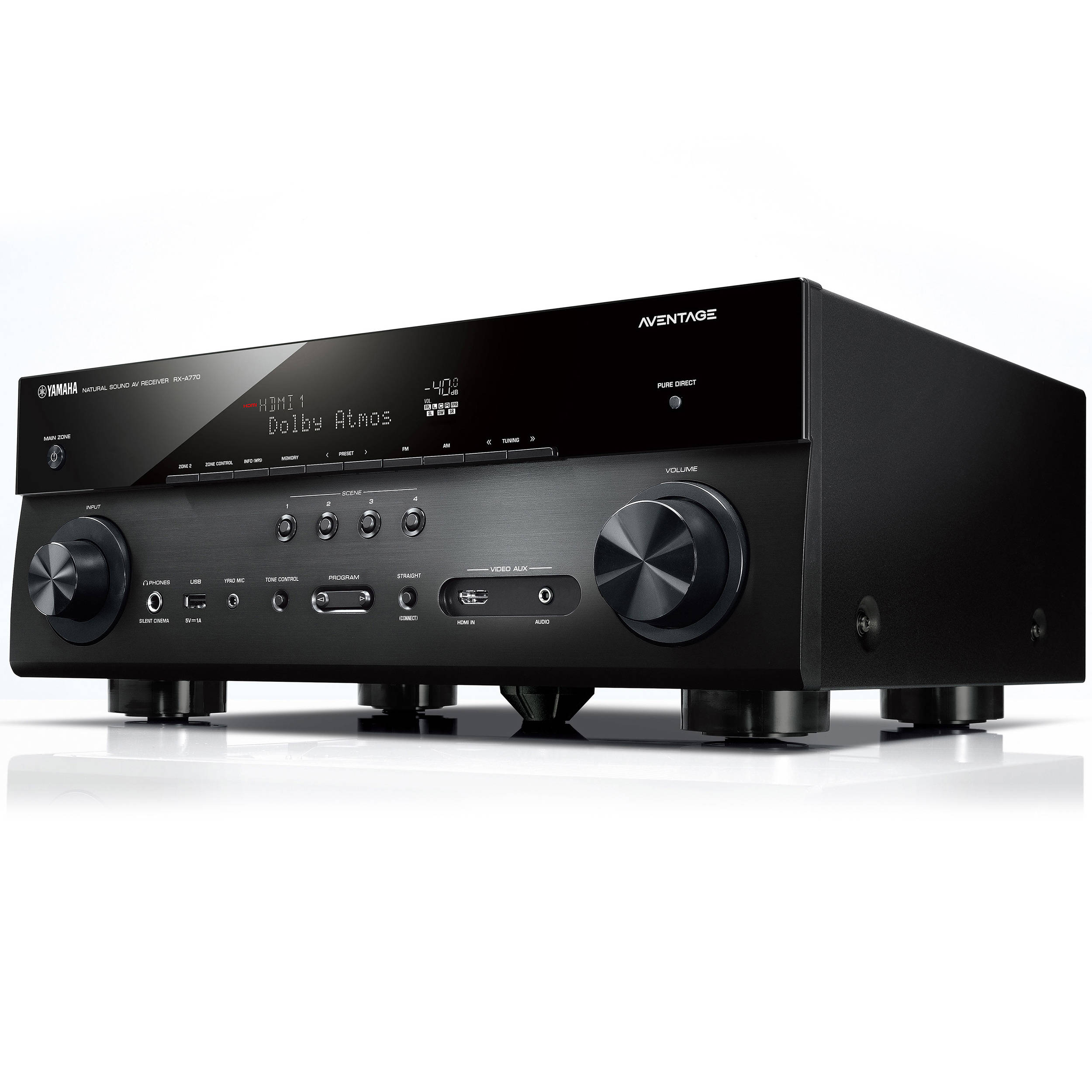 Yamaha AVENTAGE RX-A770 7 2-Channel Network A/V Receiver