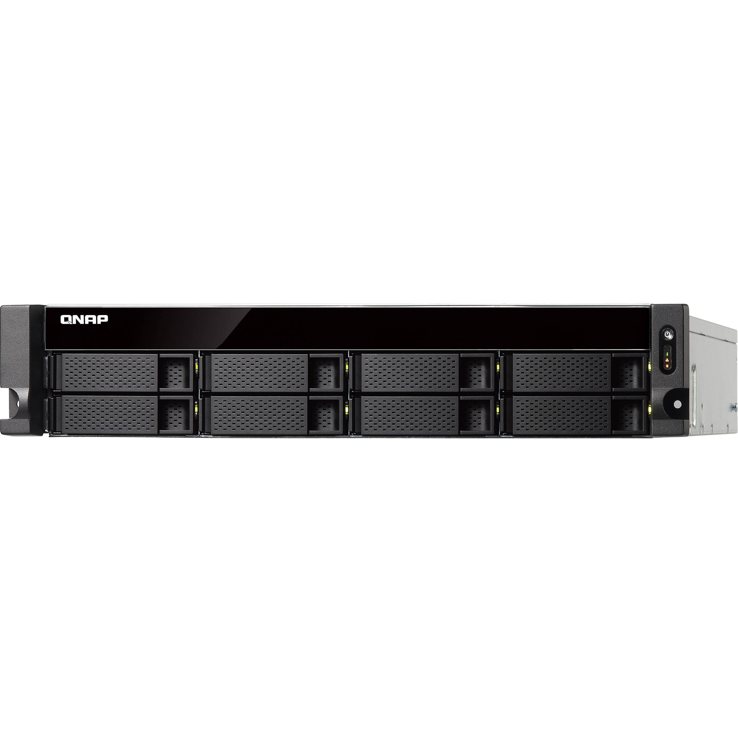 QNAP TS-831XU-RP 8-Bay NAS Enclosure with Redundant Power Supply