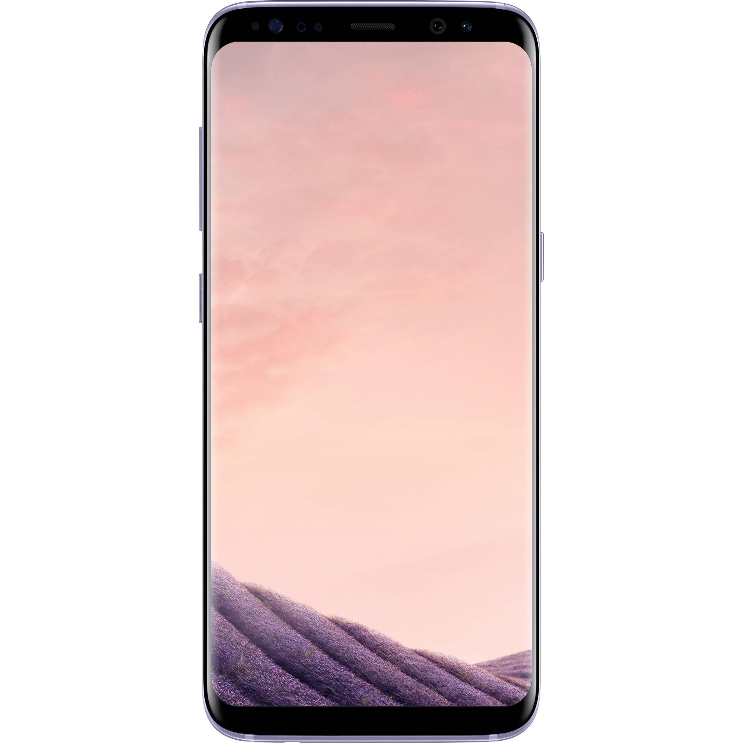 Samsung Galaxy S8 Duos SM-G950FD 64GB Smartphone (Unlocked, Orchid Gray)