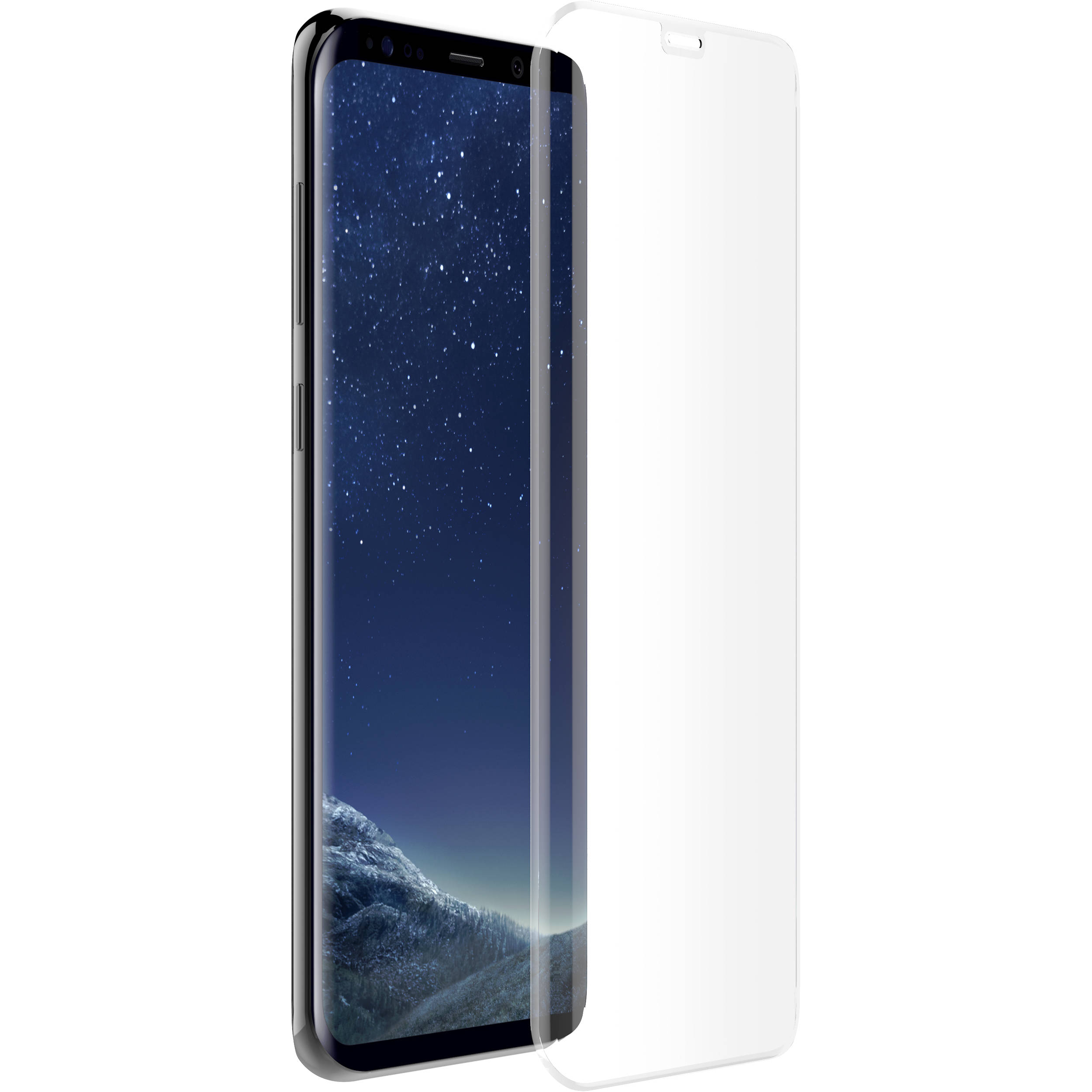 uk availability a13e3 895cc OtterBox Alpha Glass Screen Protector for Galaxy S8+