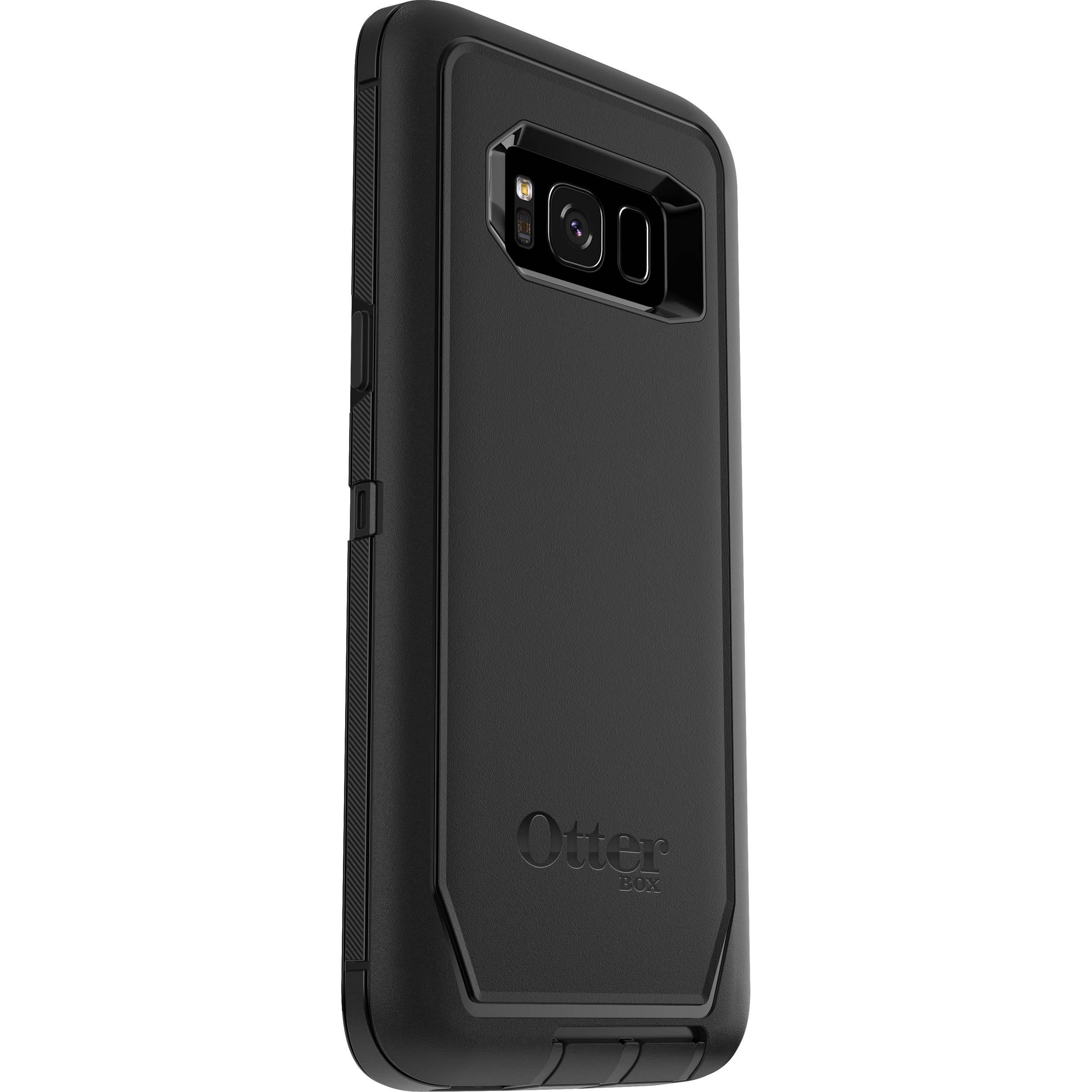 pretty nice 6a1e6 7c871 OtterBox Defender Series Case for Galaxy S8 (Black)
