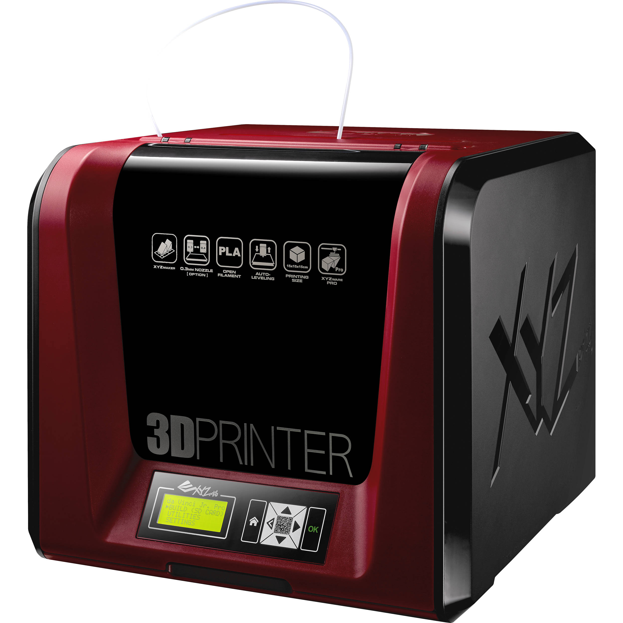 XYZprinting da Vinci Jr  1 0 Pro 3D Printer