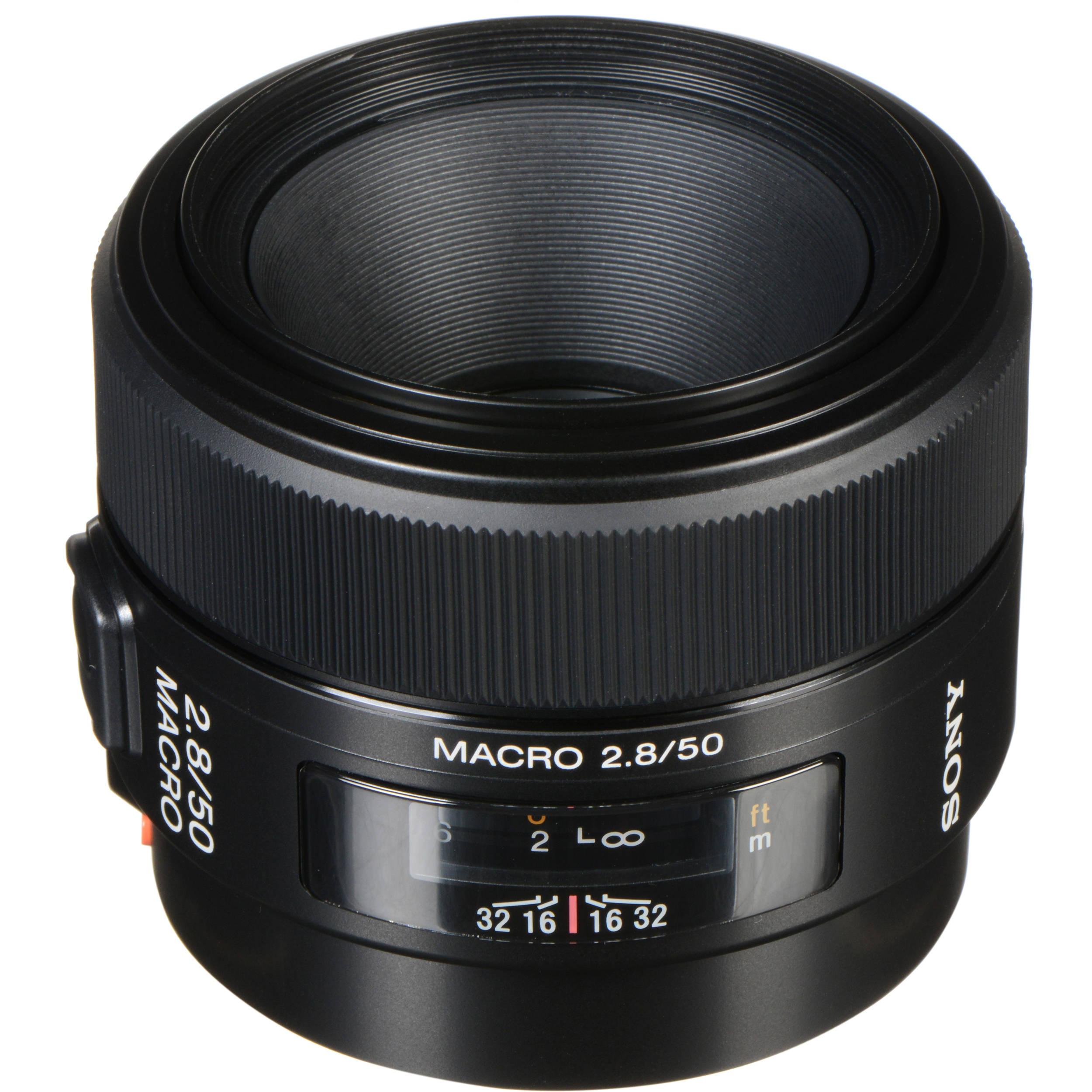 Sony 50mm f/2.8 Macro Lens SAL50M28 B&H Photo Video